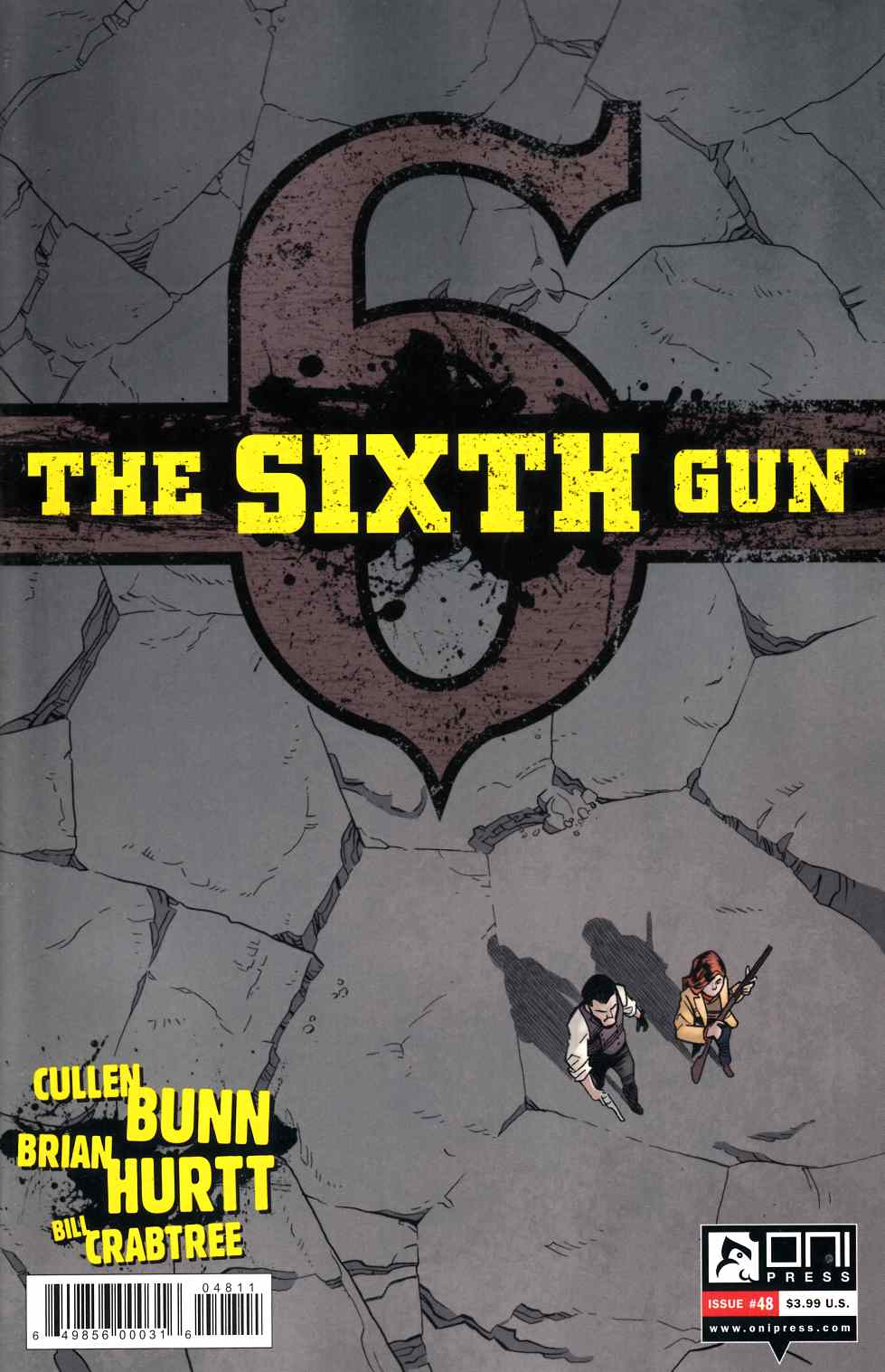 Sixth Gun #48 [Oni Press Comic] LARGE