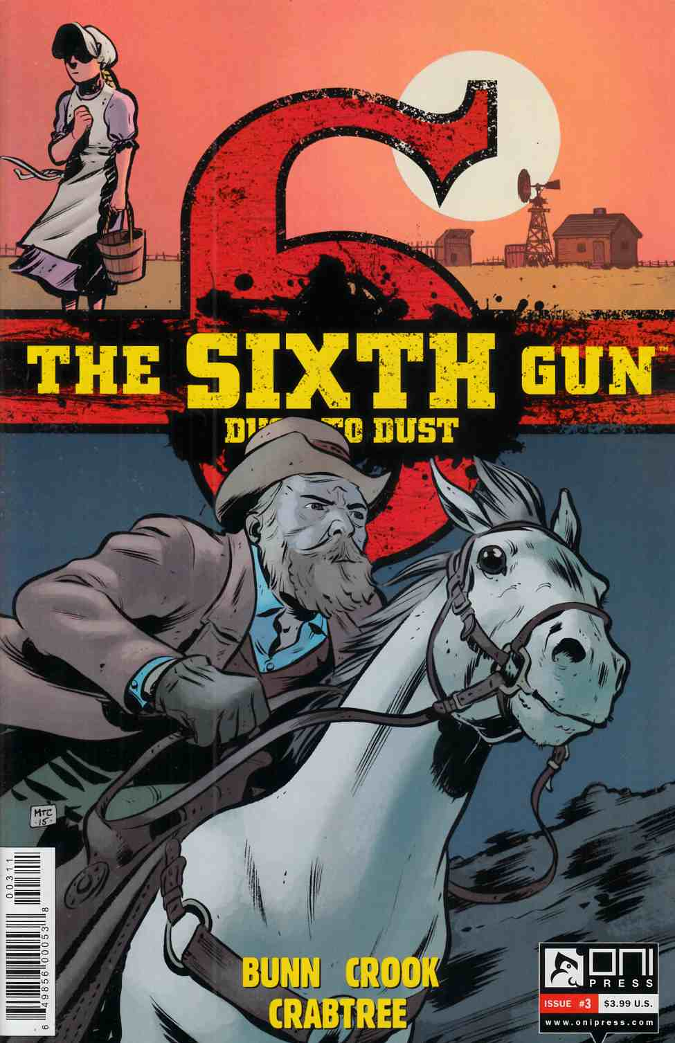 Sixth Gun Dust To Dust #3 [Oni Press Comic]