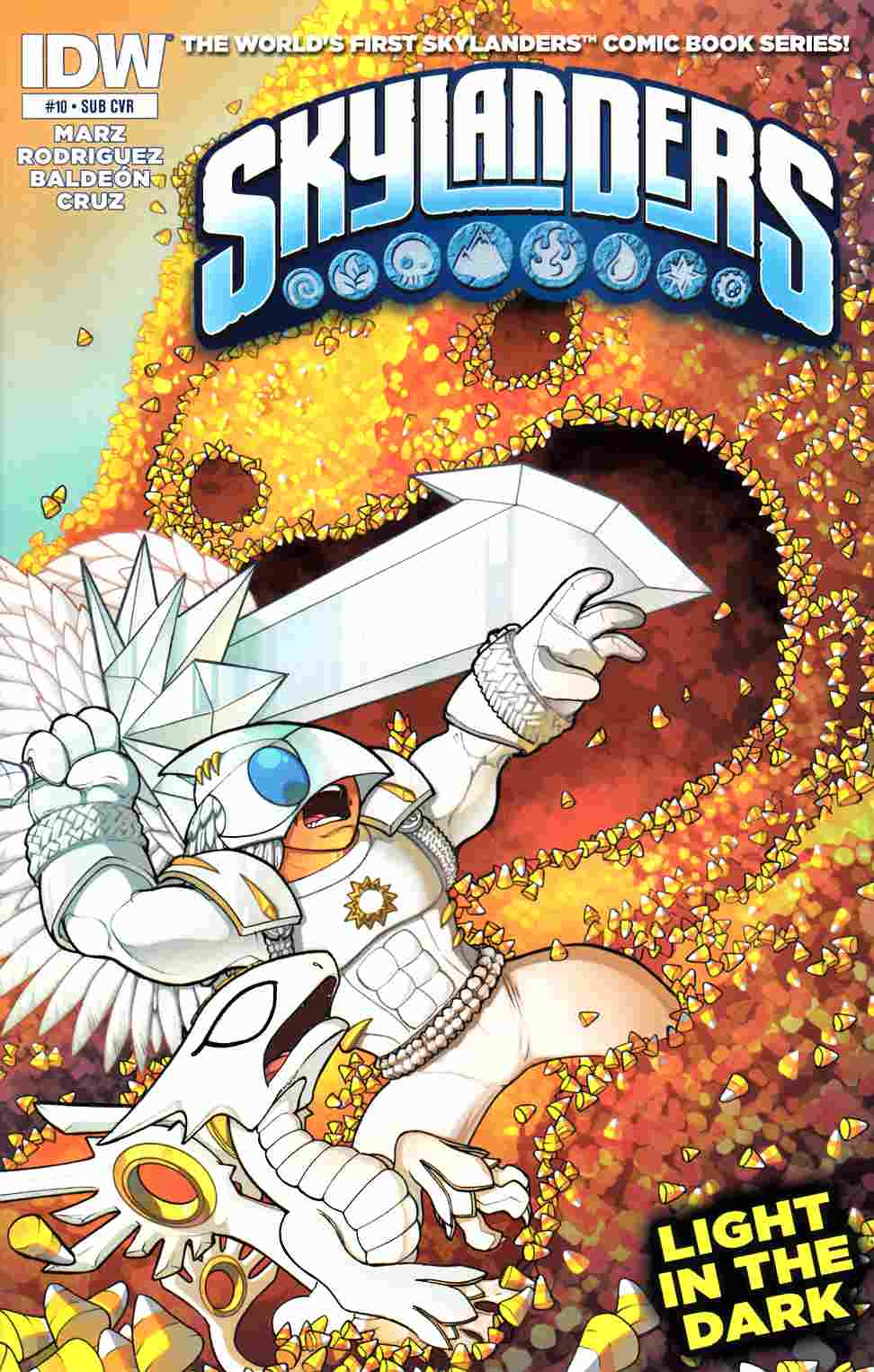Skylanders #10 Subscription Cover [IDW Comic] THUMBNAIL