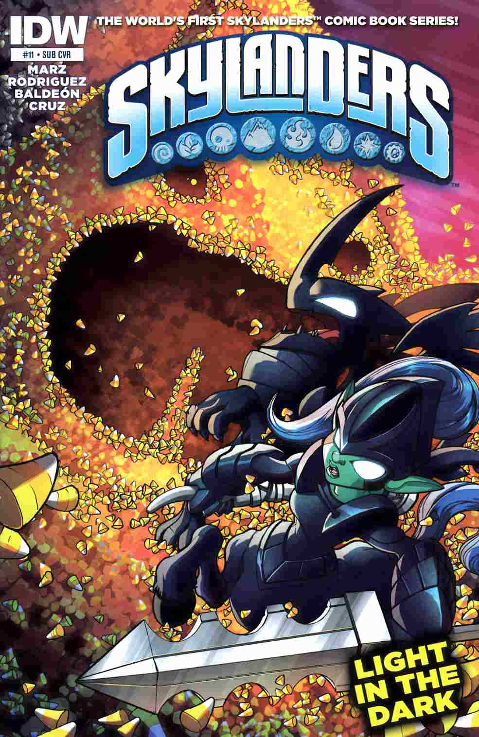 Skylanders #11 Subscription Cover [IDW Comic]_THUMBNAIL
