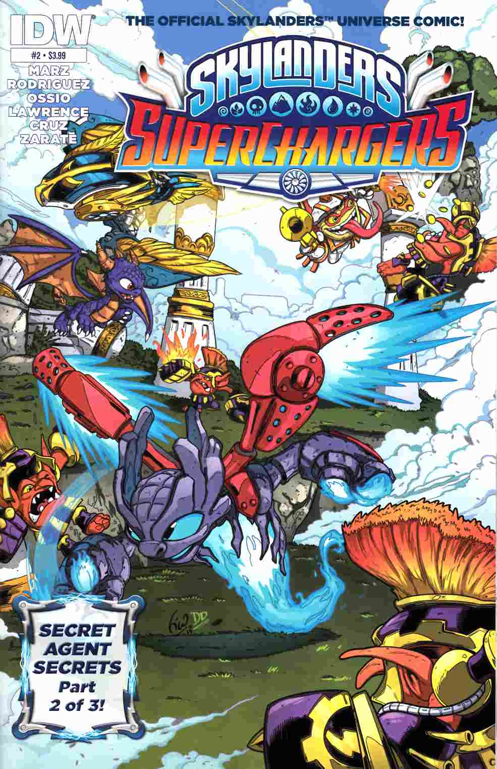 Skylanders Superchargers #2 [IDW Comic] THUMBNAIL