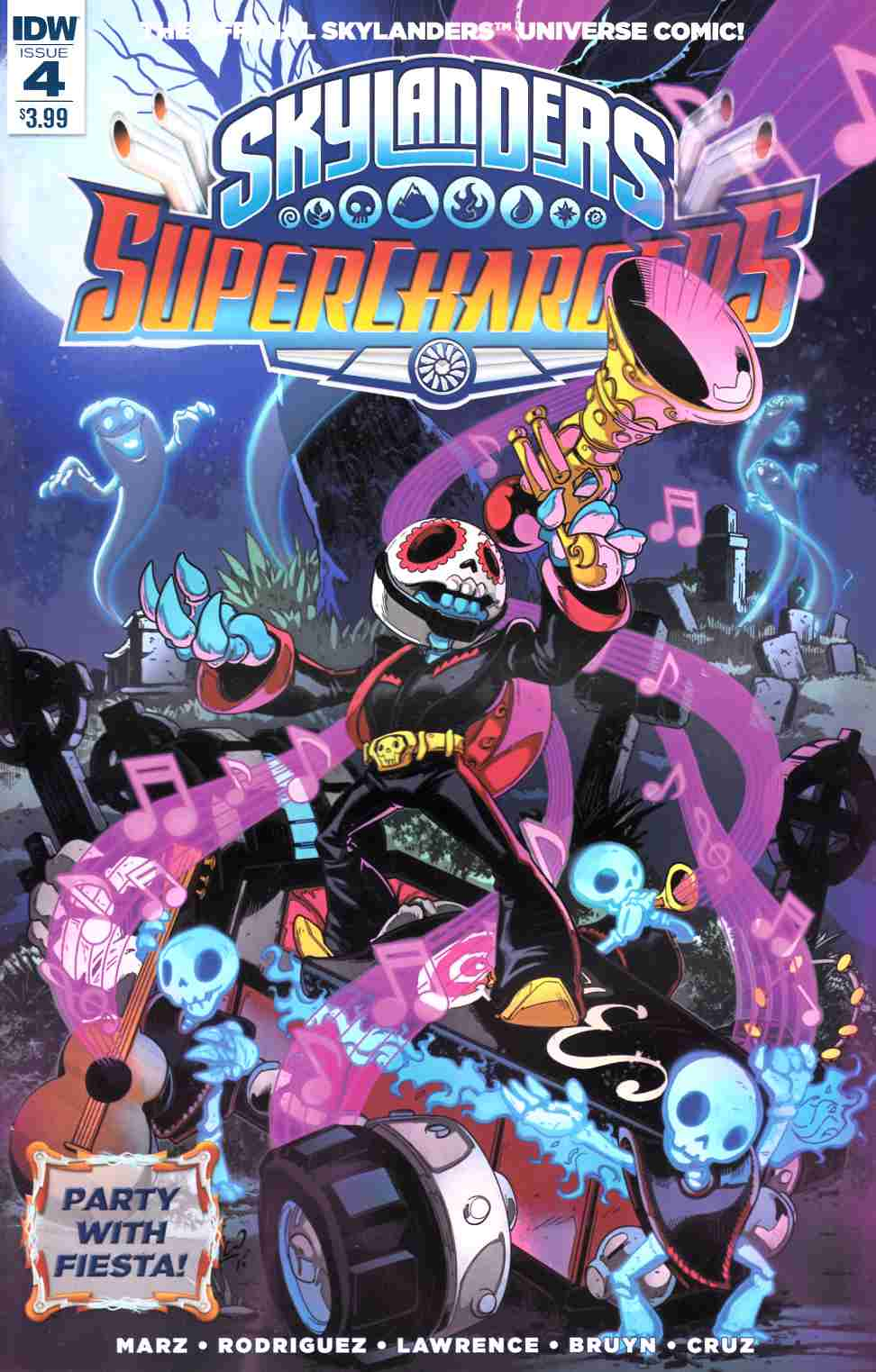 Skylanders Superchargers #4 [IDW Comic] THUMBNAIL