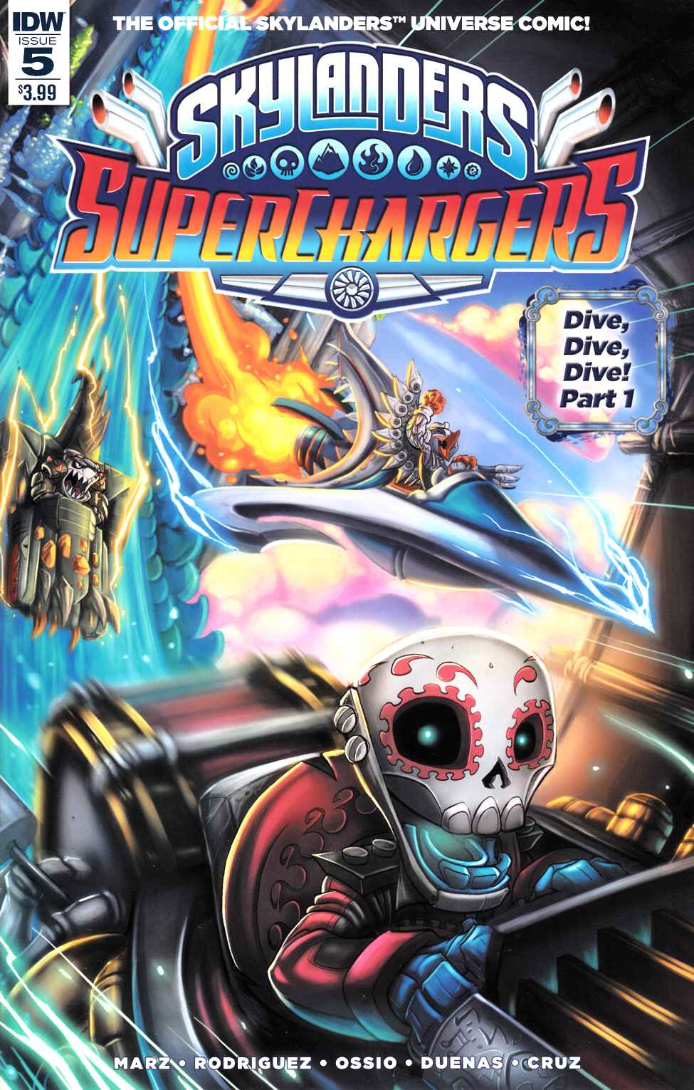 Skylanders Superchargers #5 [IDW Comic] THUMBNAIL