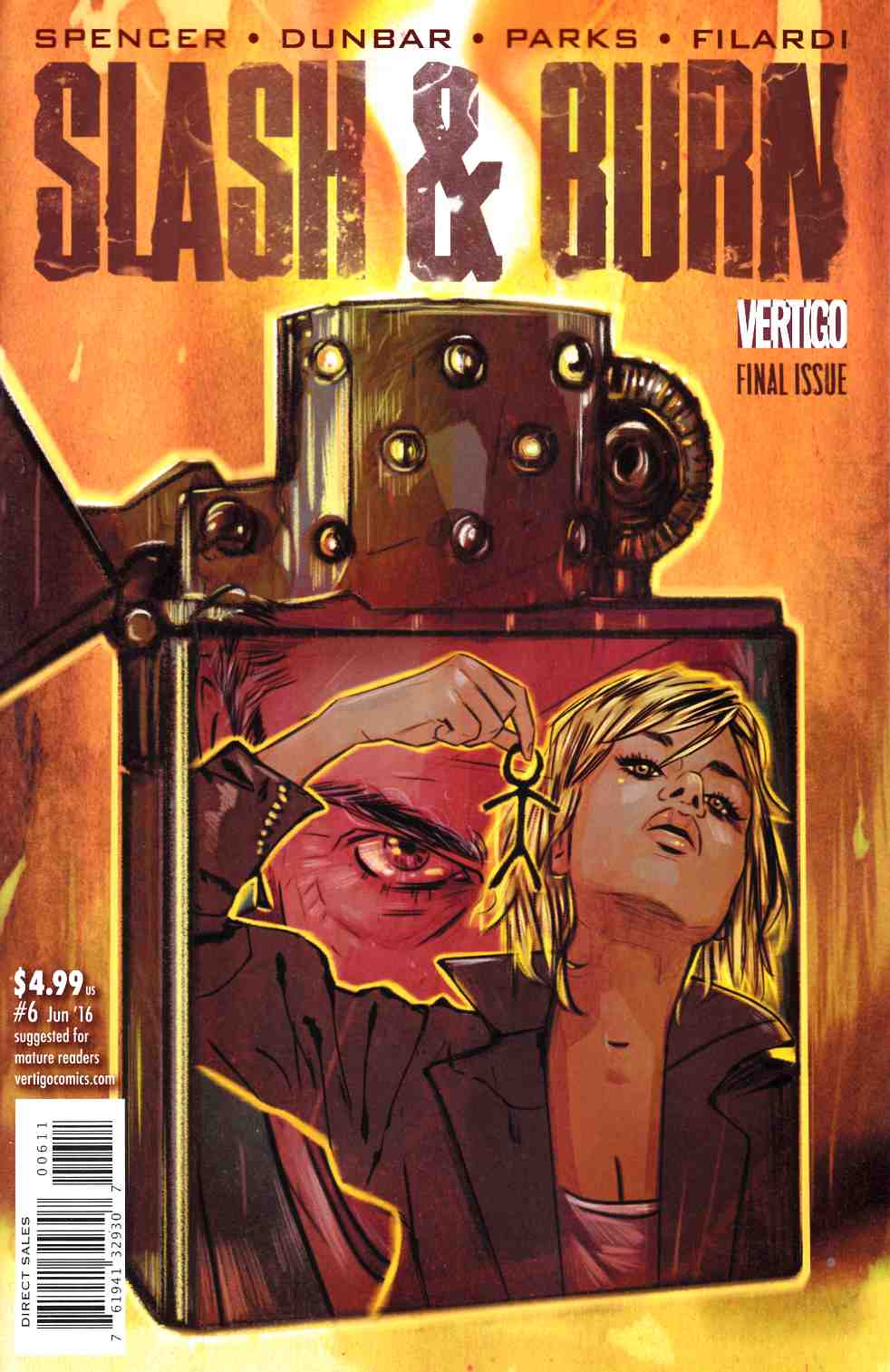 Slash & Burn #6 [DC Comic] LARGE