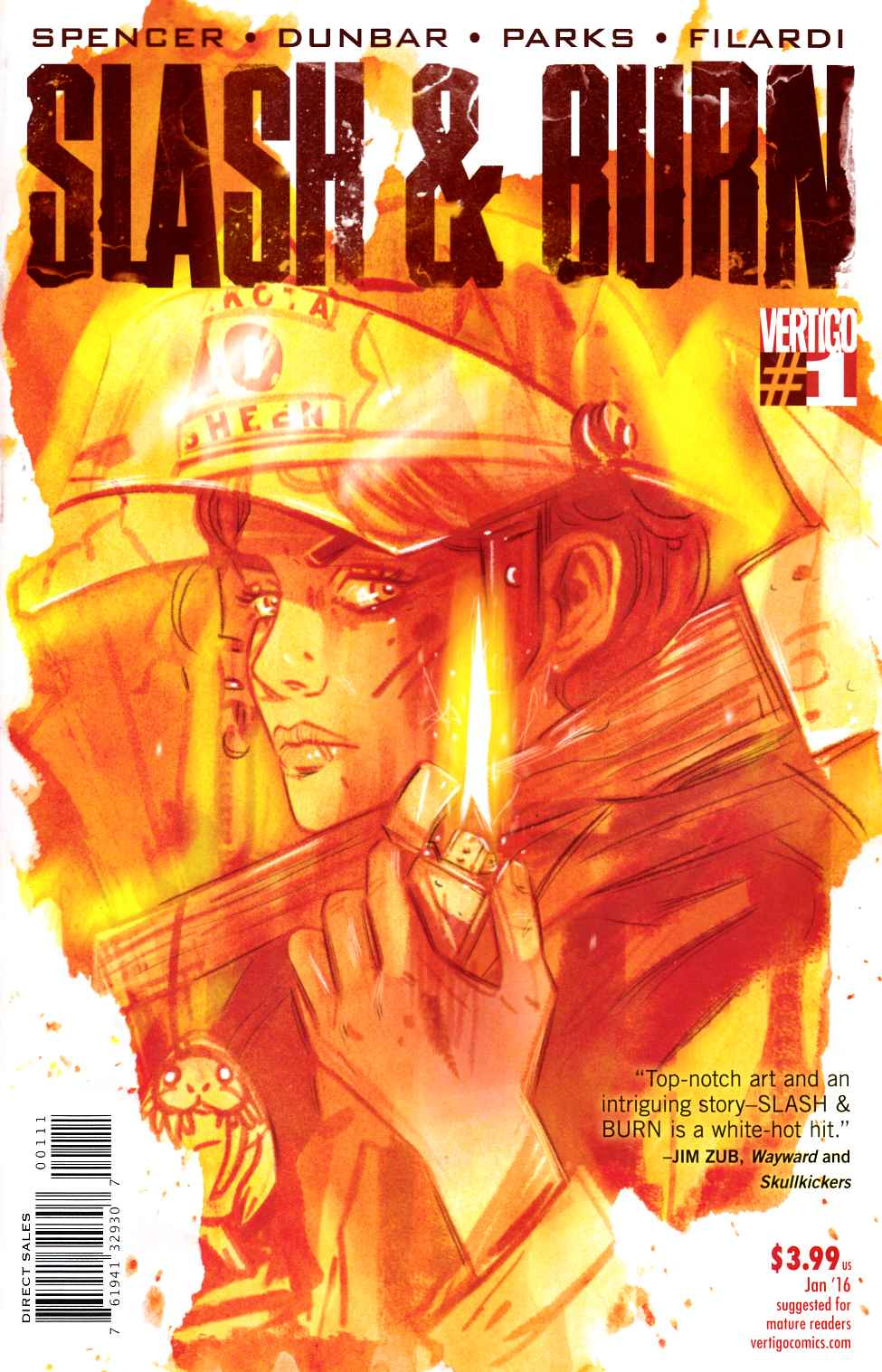 Slash & Burn #1 [DC Comic] LARGE