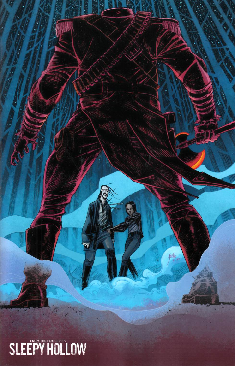 Sleepy Hollow #1 Coelho Variant Cover [Boom Comic]