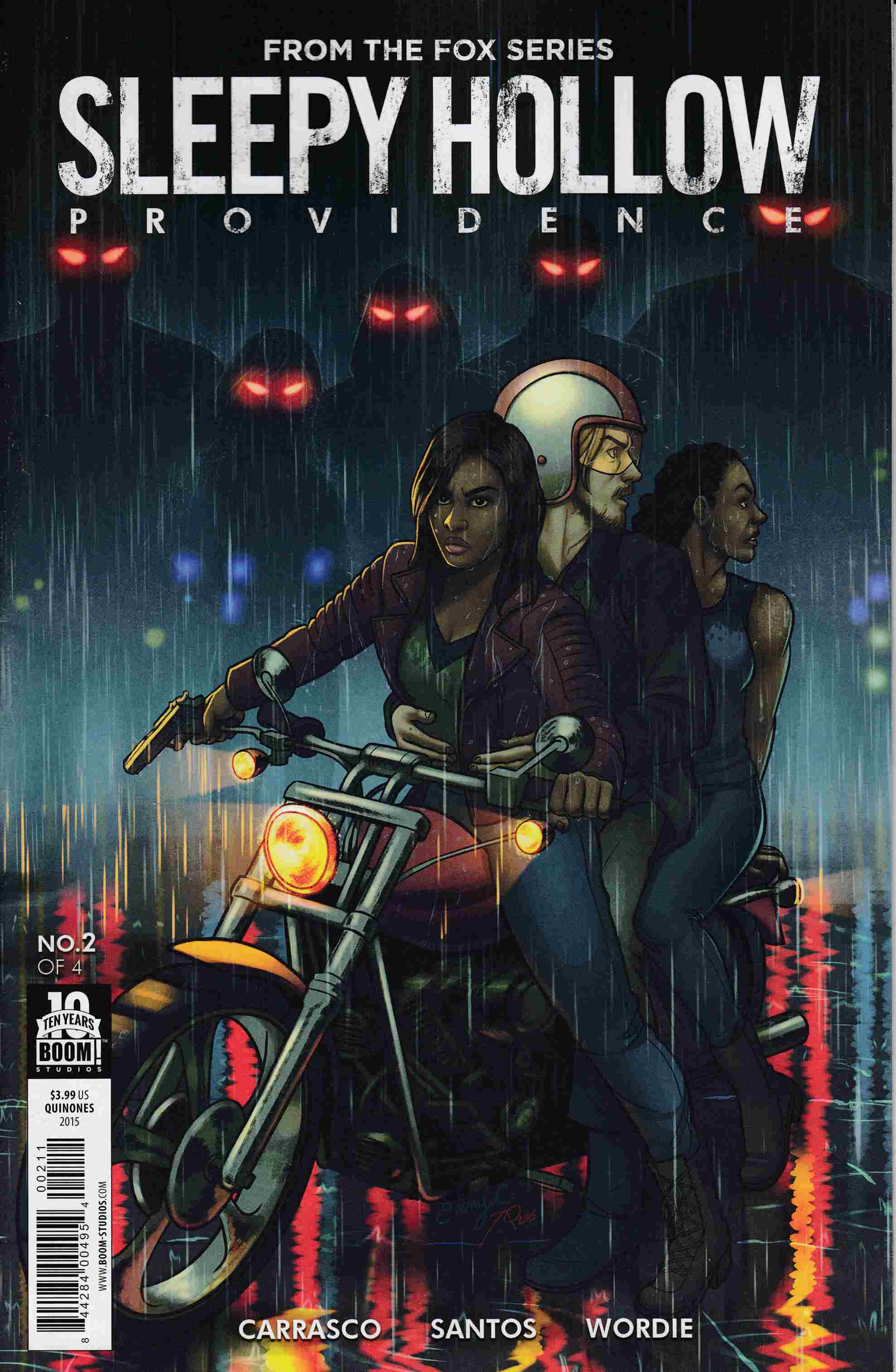 Sleepy Hollow Providence #2 [Boom Comic]