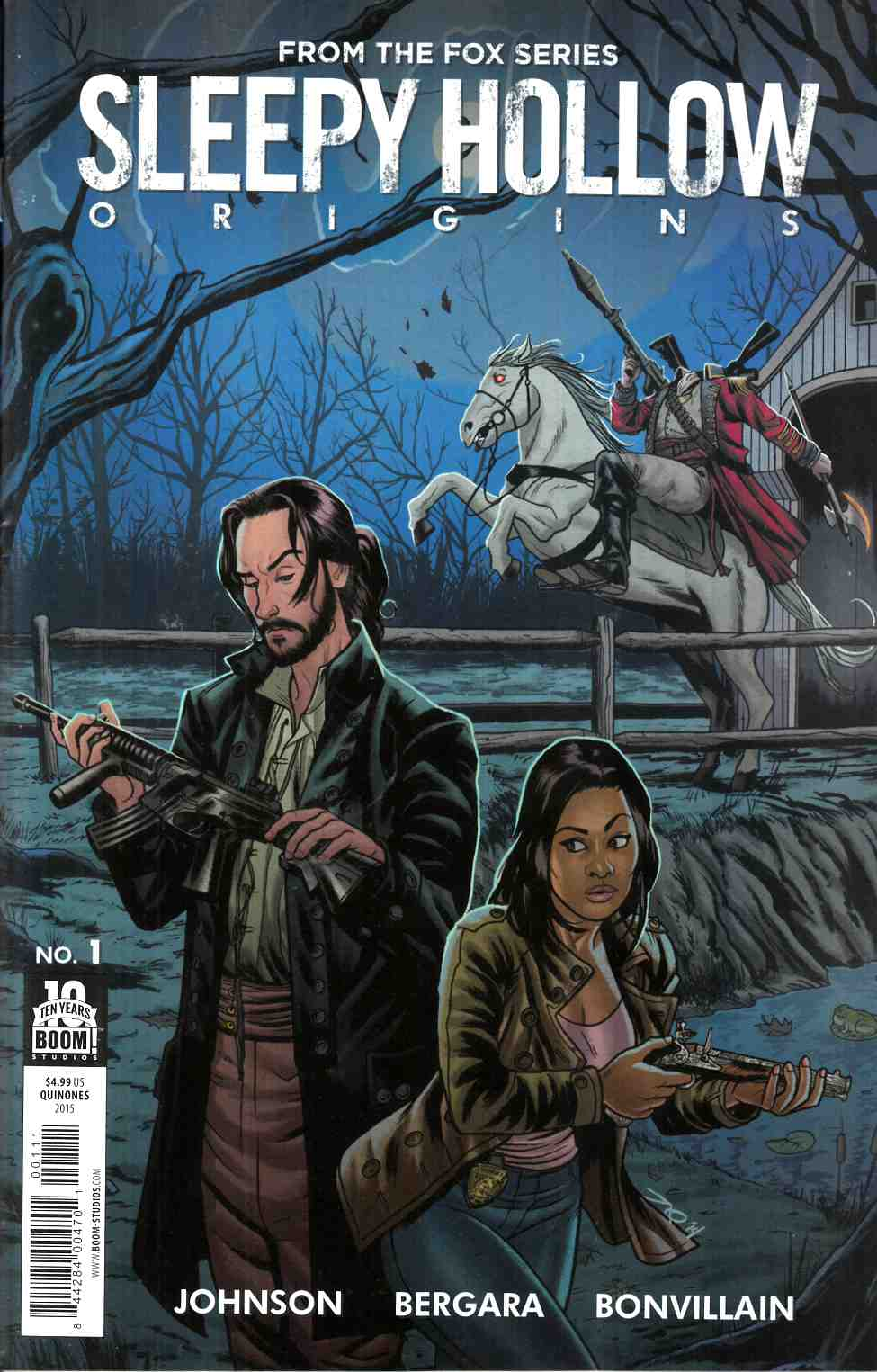 Sleepy Hollow Origins #1 [Bom Comic]