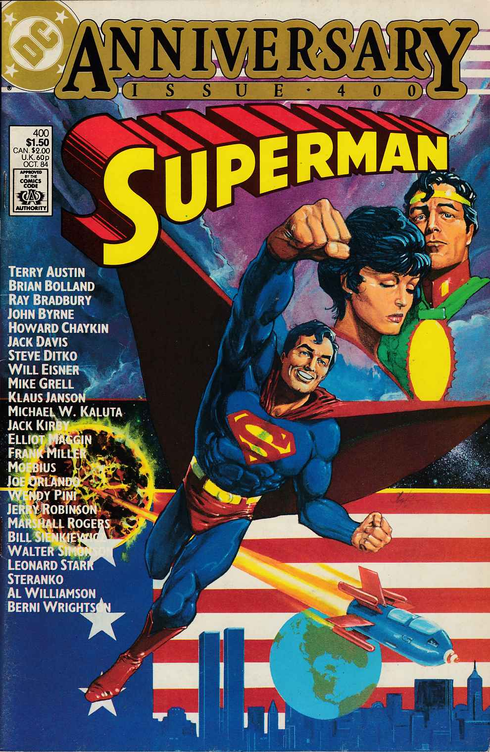 Superman #400 Very Fine (8.0) [DC Comic] LARGE