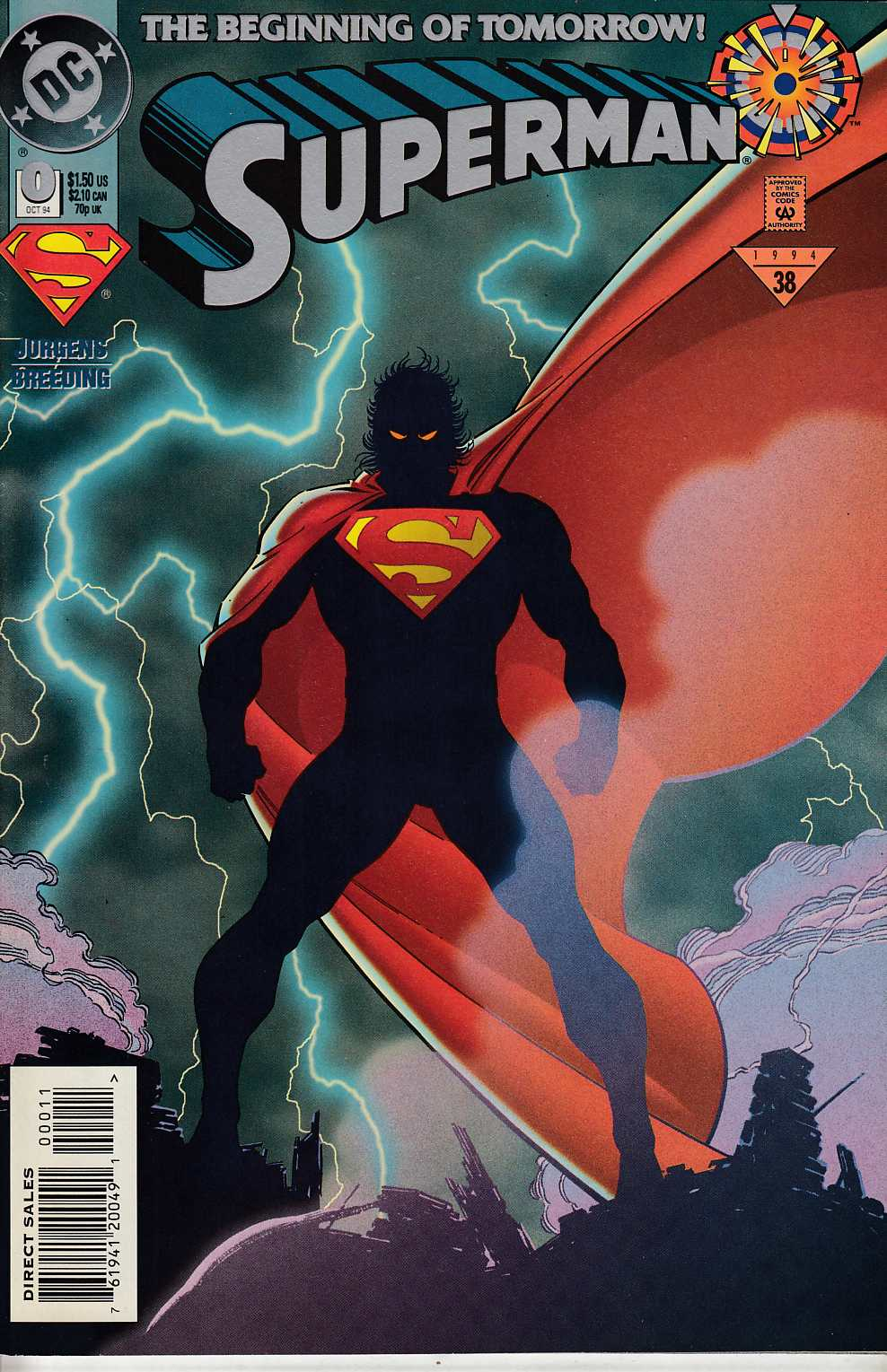 Superman #0 Near Mint (9.4) [DC Comic]_THUMBNAIL