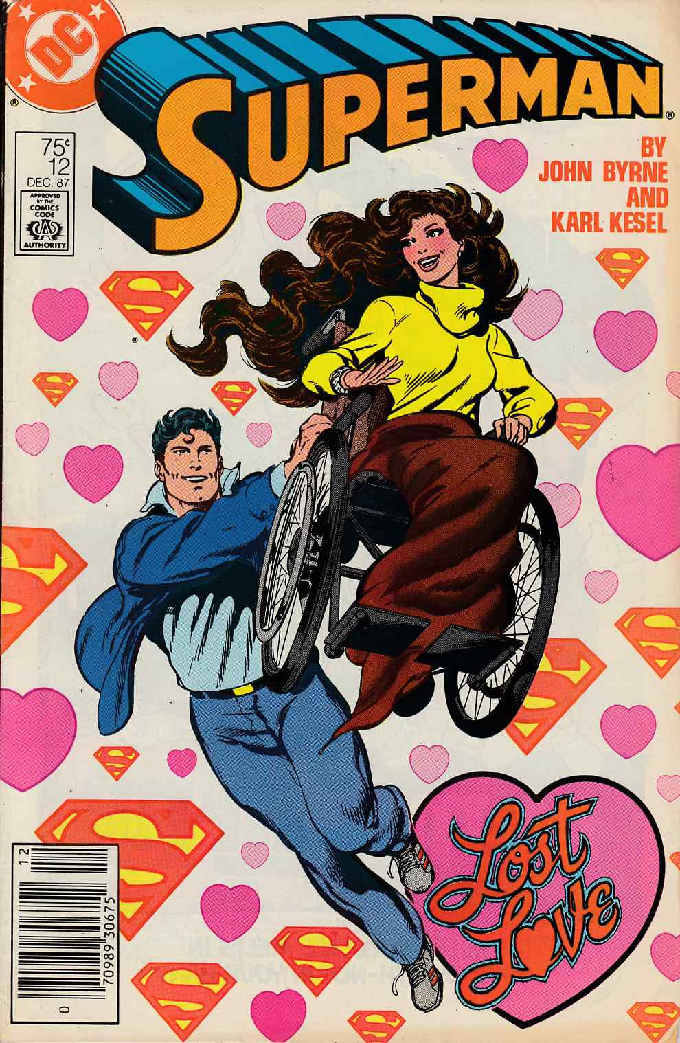 Superman #12 Newsstand Edition Very Good (4.0) [DC Comic] THUMBNAIL