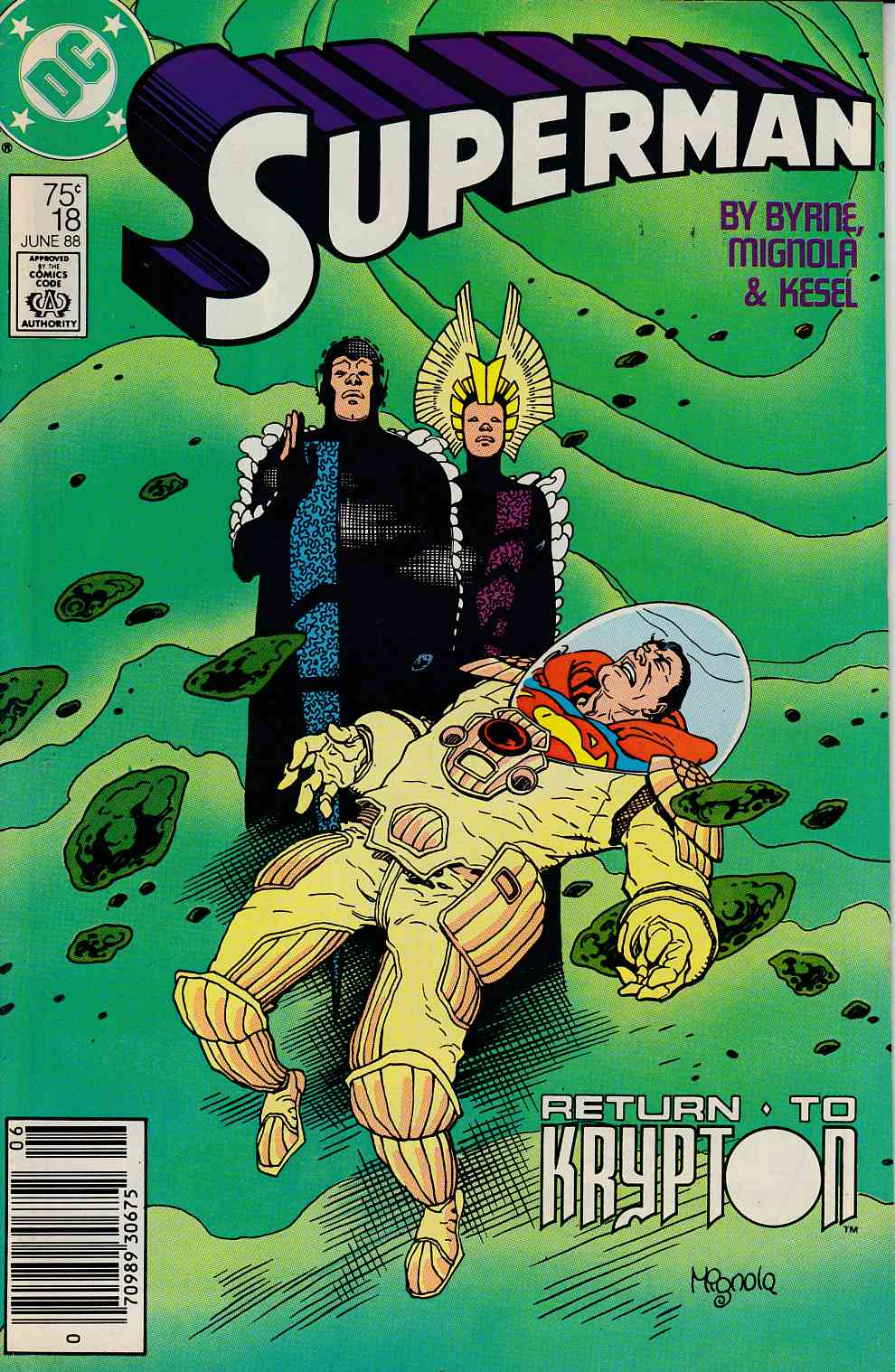 Superman #18 Newsstand Edition Fine (6.0) [DC Comic] THUMBNAIL