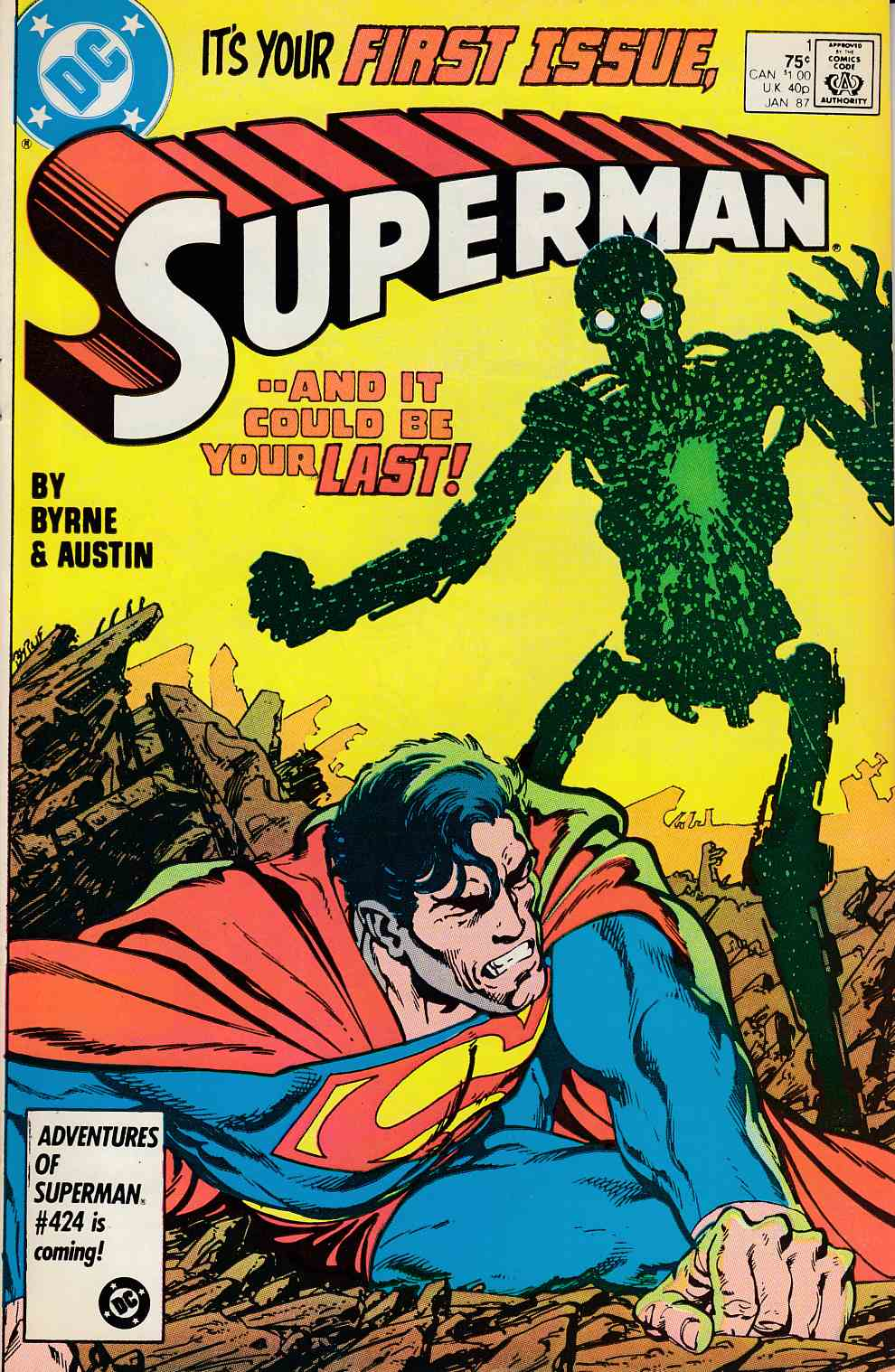 Superman #1 Very Fine (8.0) [DC Comic]_THUMBNAIL