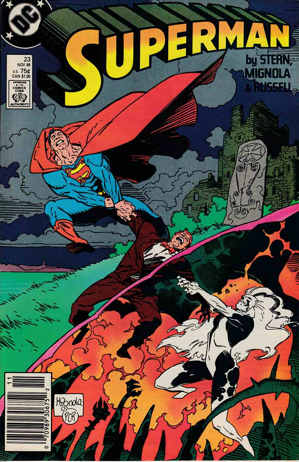 Superman #23 Newsstand Edition Fine (6.0) [DC Comic] THUMBNAIL