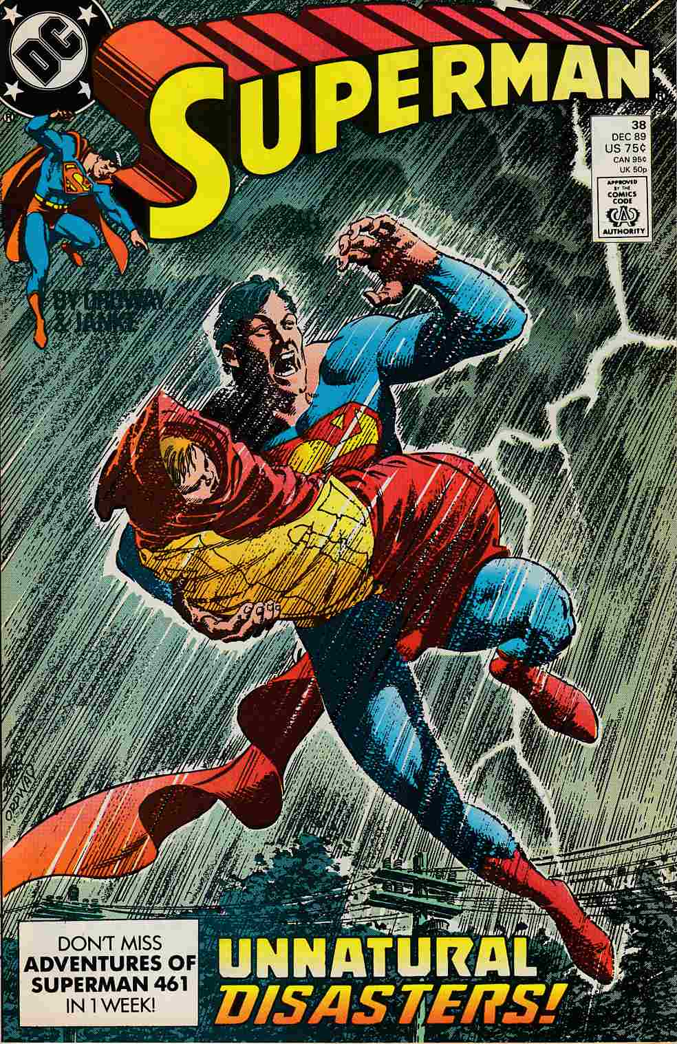 Superman #38 Near Mint (9.4) [DC Comic] LARGE