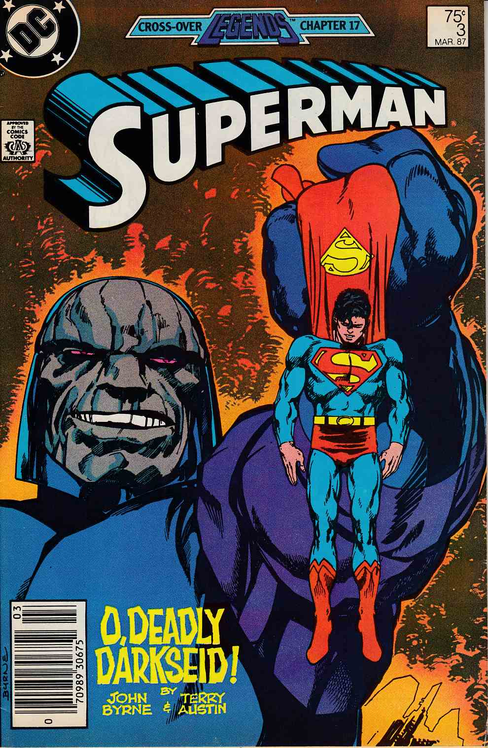 Superman #3 Newsstand Edition Very Fine Minus (7.5) [DC Comic]_THUMBNAIL