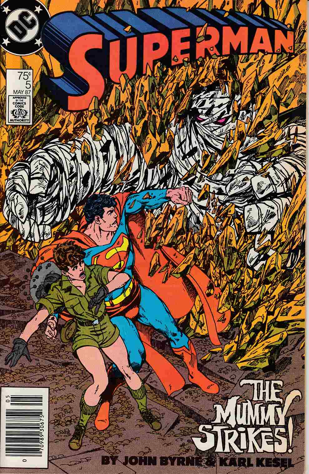 Superman #5 Newsstand Edition Fine/Very Fine (7.0) [DC Comic]_THUMBNAIL