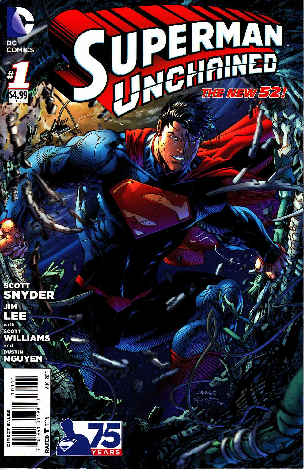 Superman Unchained #1 [DC Comic] THUMBNAIL