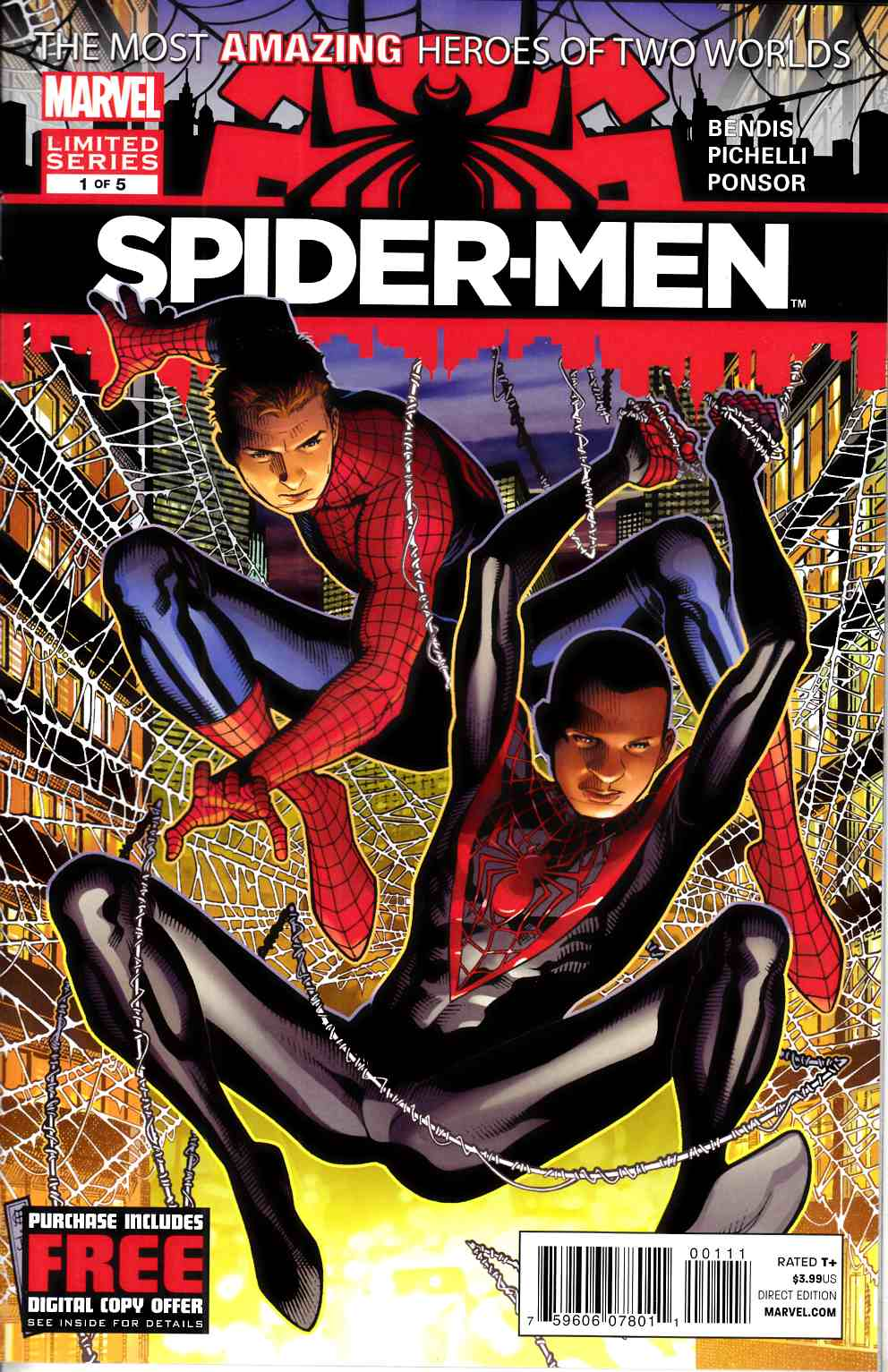Spider-Men #1 Near Mint (9.4) [Marvel Comic] THUMBNAIL