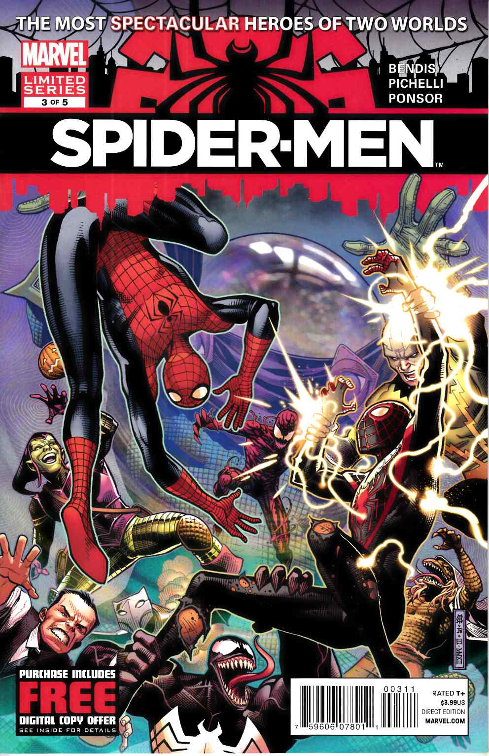 Spider-Men #3 Near Mint (9.4) [Marvel Comic] THUMBNAIL