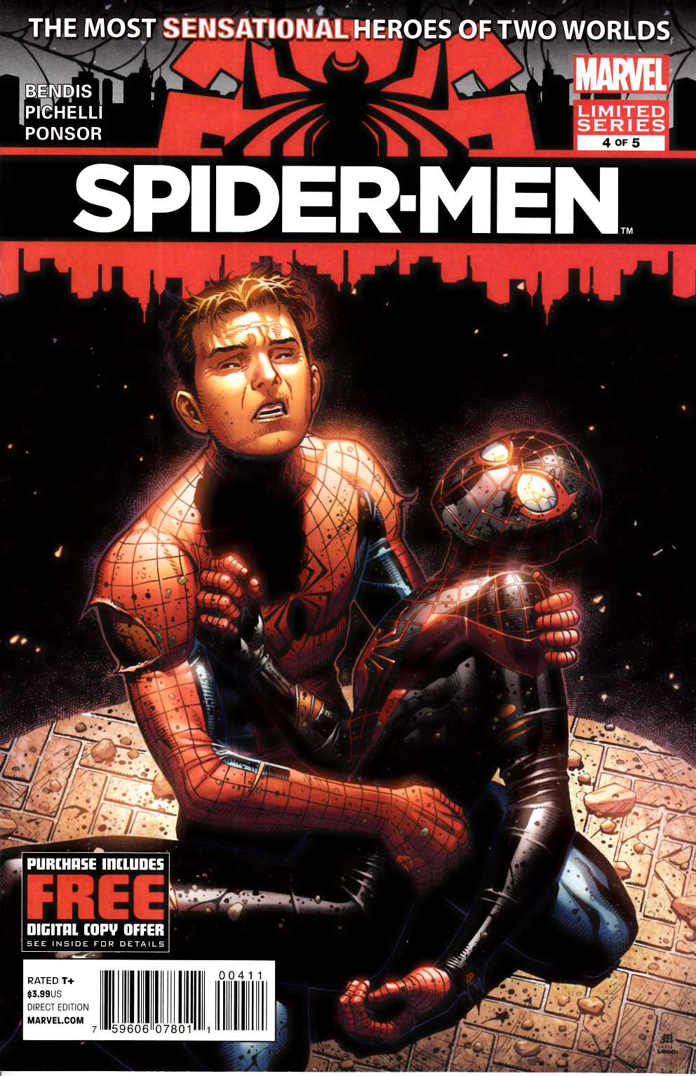 Spider-Men #4 Near Mint (9.4) [Marvel Comic] THUMBNAIL