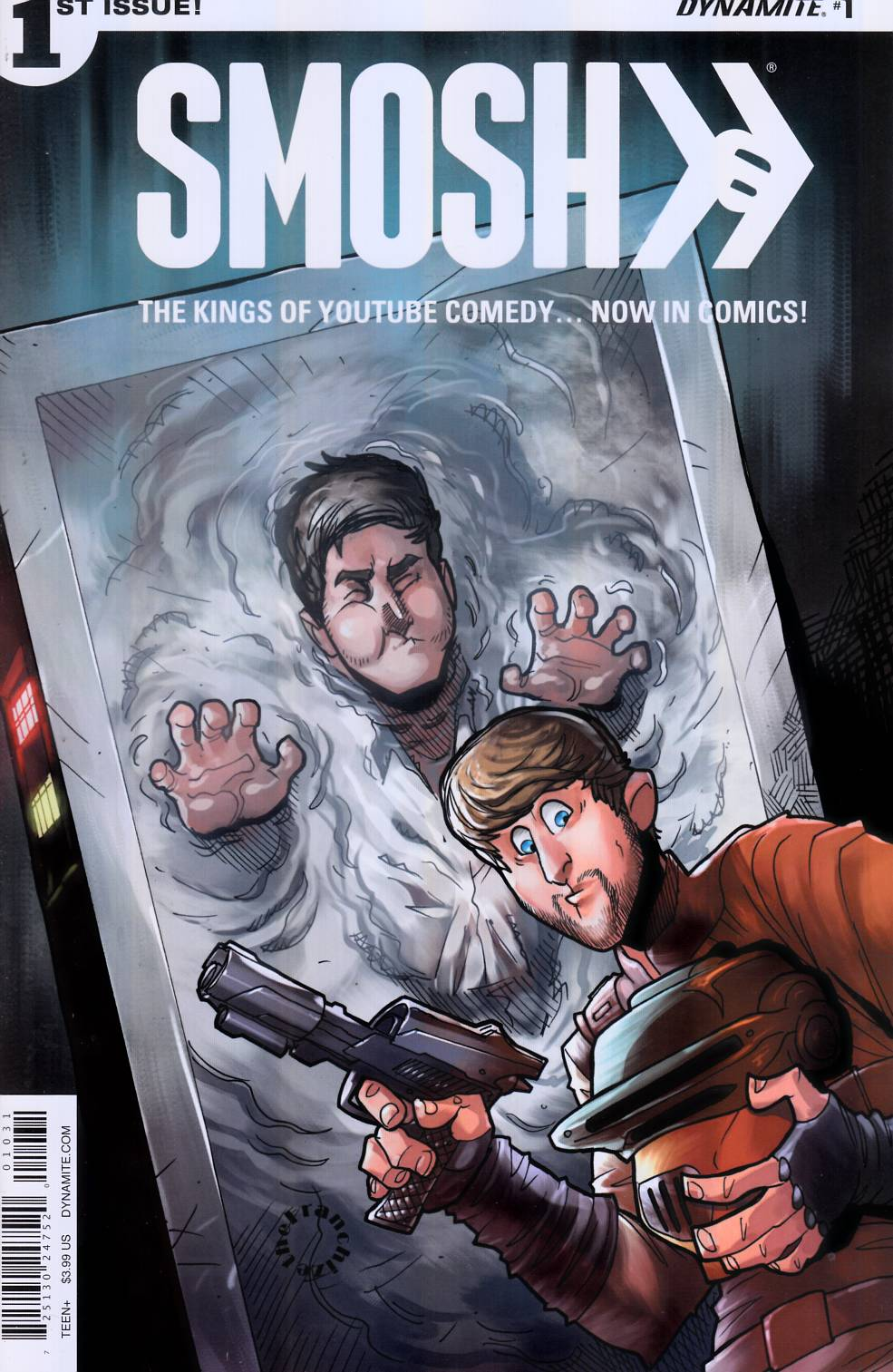 Smosh #1 Cover C [Dynamite Comic] THUMBNAIL