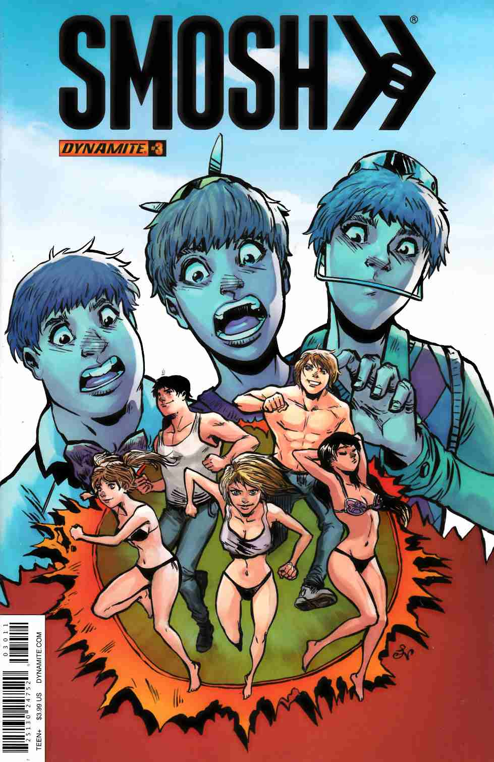 Smosh #3 Cover A [Dynamite Comic] THUMBNAIL