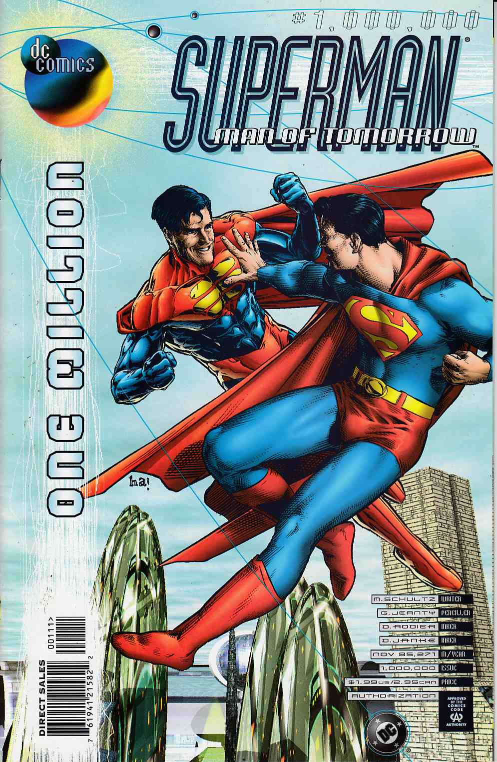 Superman The Man of Tomorrow #One Million Very Fine (8.0) [DC Comic] THUMBNAIL