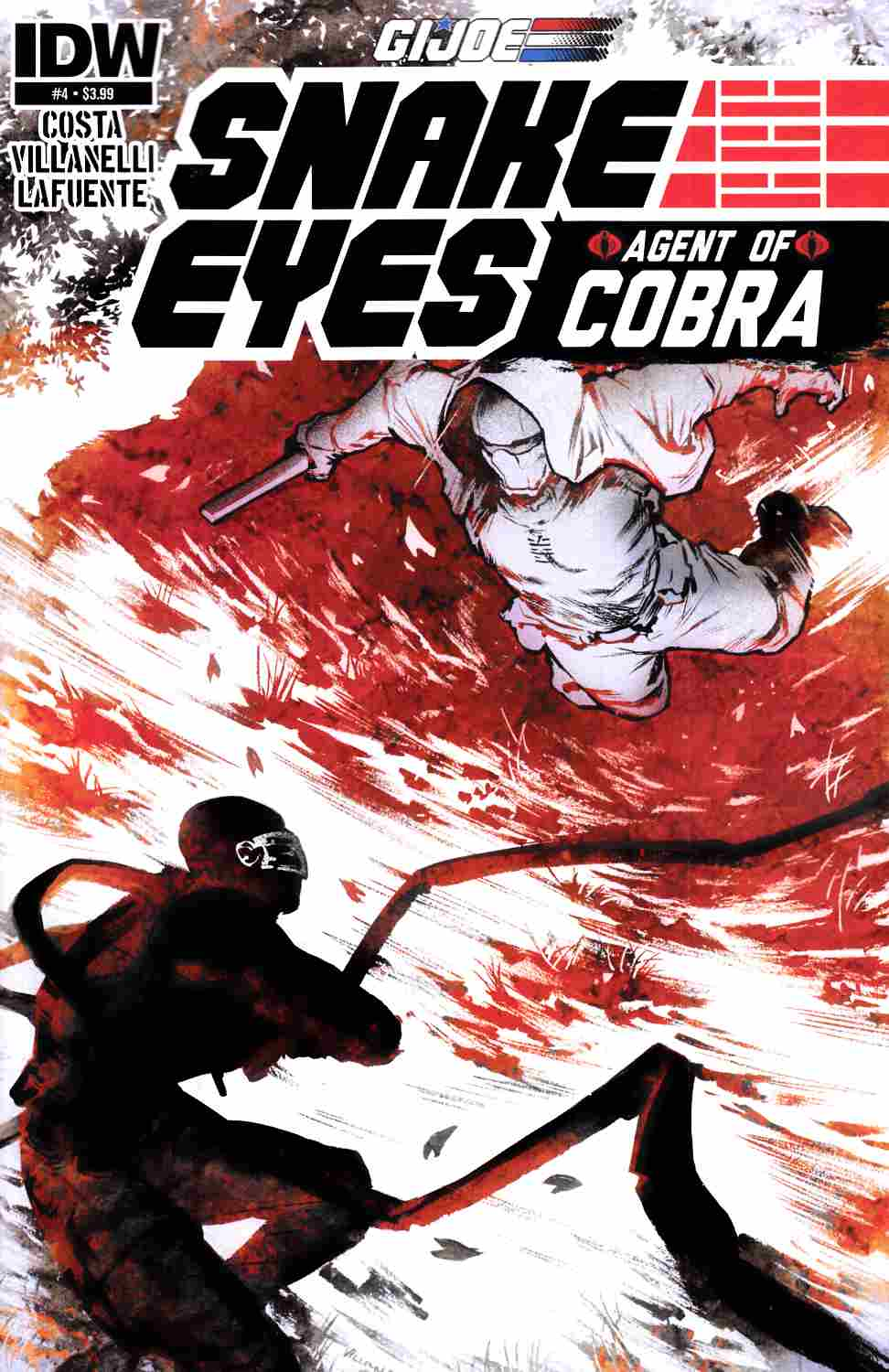 Gi Joe Snake Eyes Agent of Cobra #4 [IDW Comic]