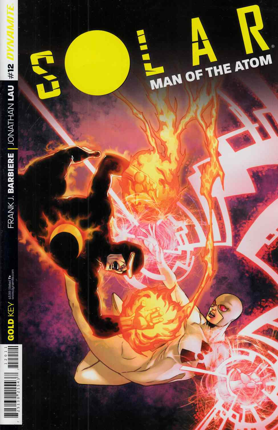 Solar Man of Atom #12 Cover A- Laming [Dynamite Comic]_THUMBNAIL