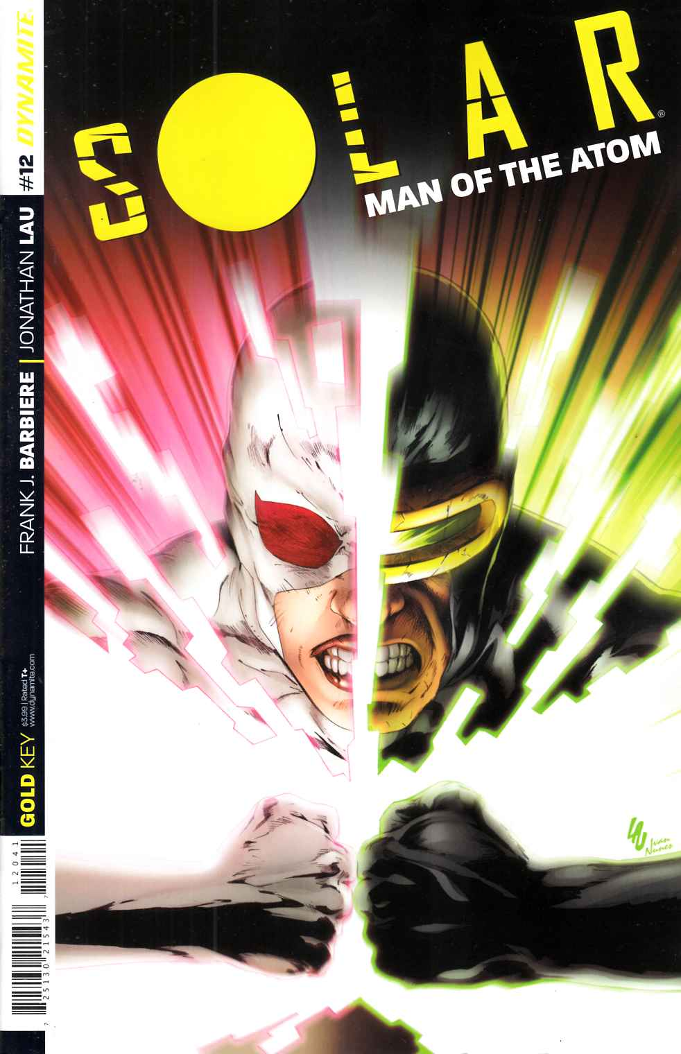 Solar Man of Atom #12 Cover B- Lau Subscription [Dynamite Comic]_THUMBNAIL