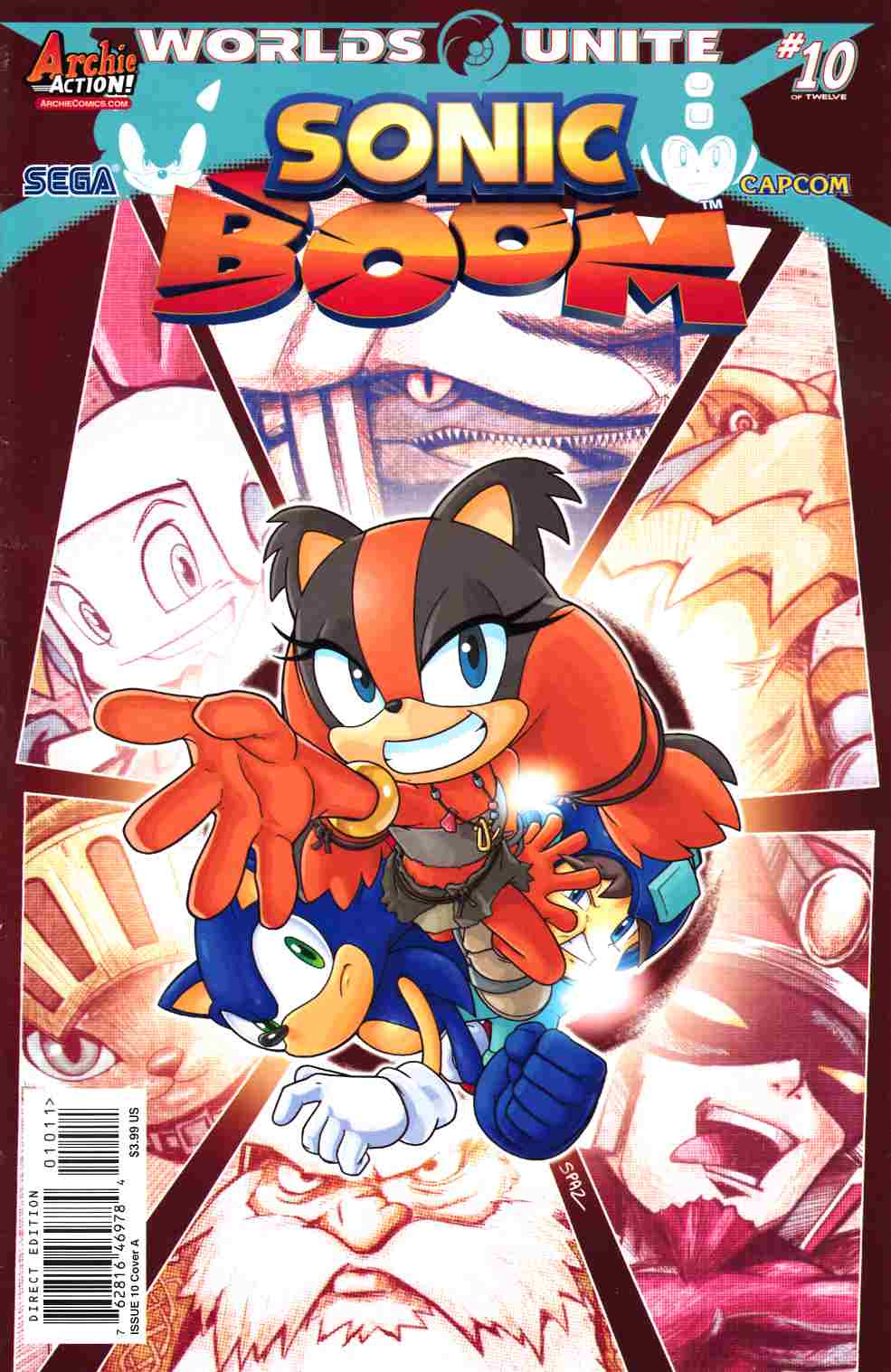 Sonic Boom #10 [Archie Comic] THUMBNAIL