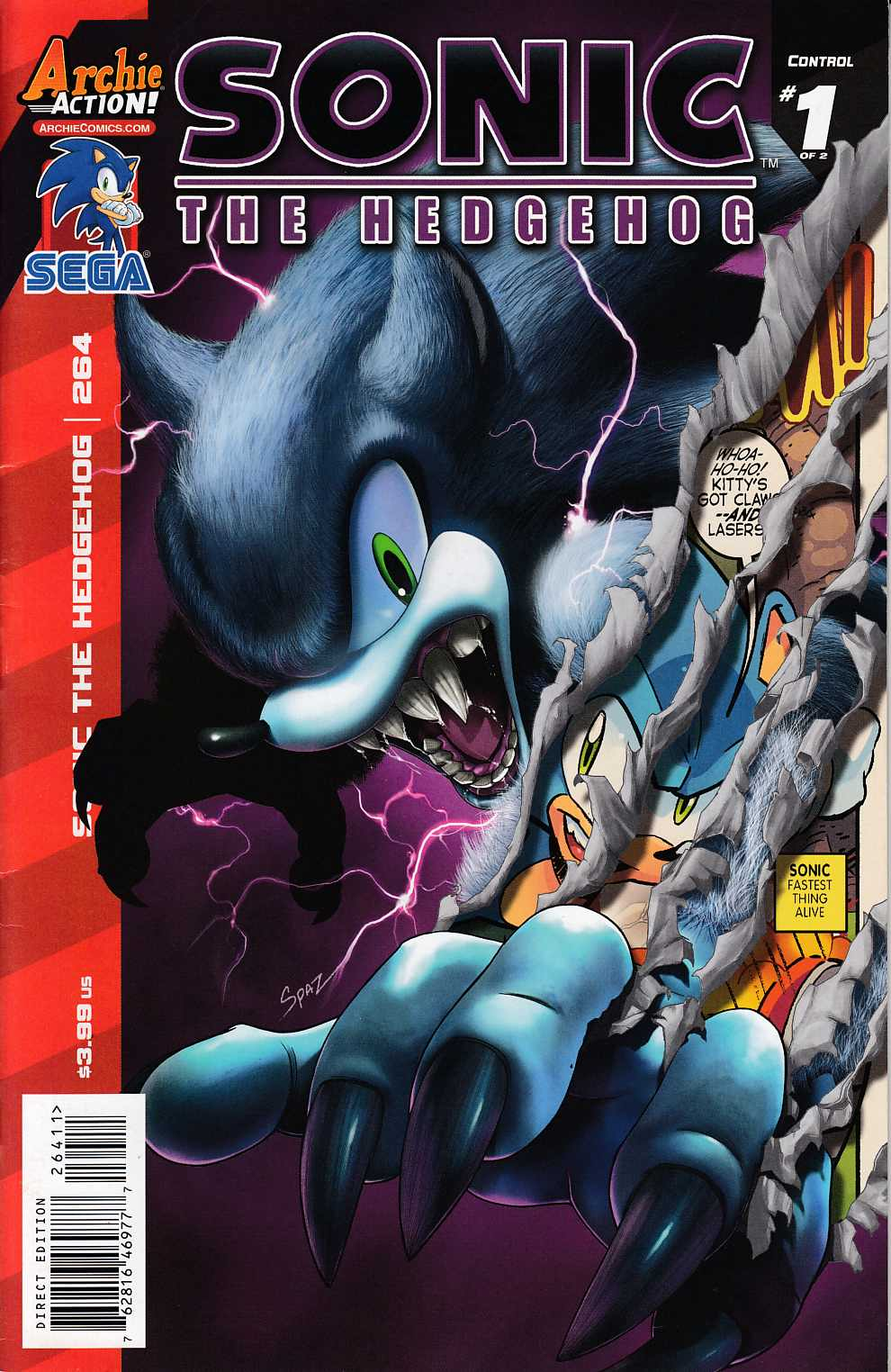 Sonic the Hedgehog #264 Very Fine (8.0) [Archie Comic]_THUMBNAIL