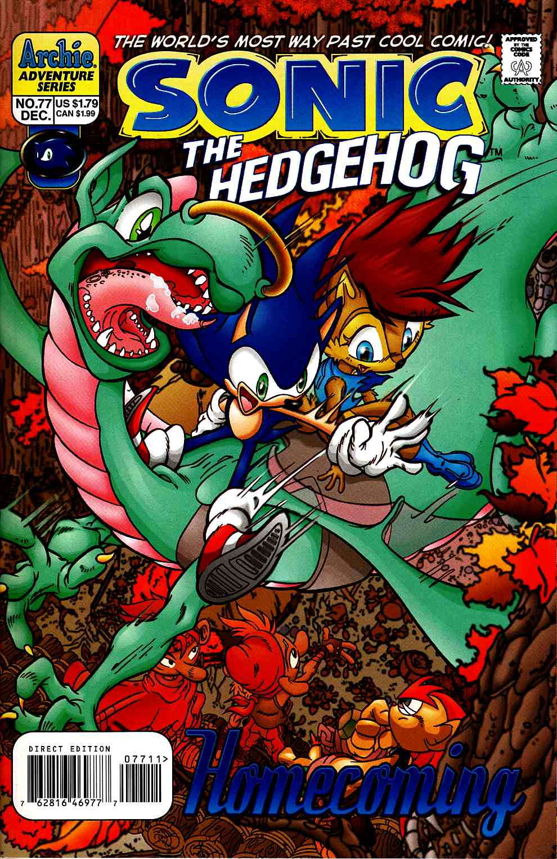Sonic The Hedgehog 77 Archie Comic Dreamlandcomics Com Online Store