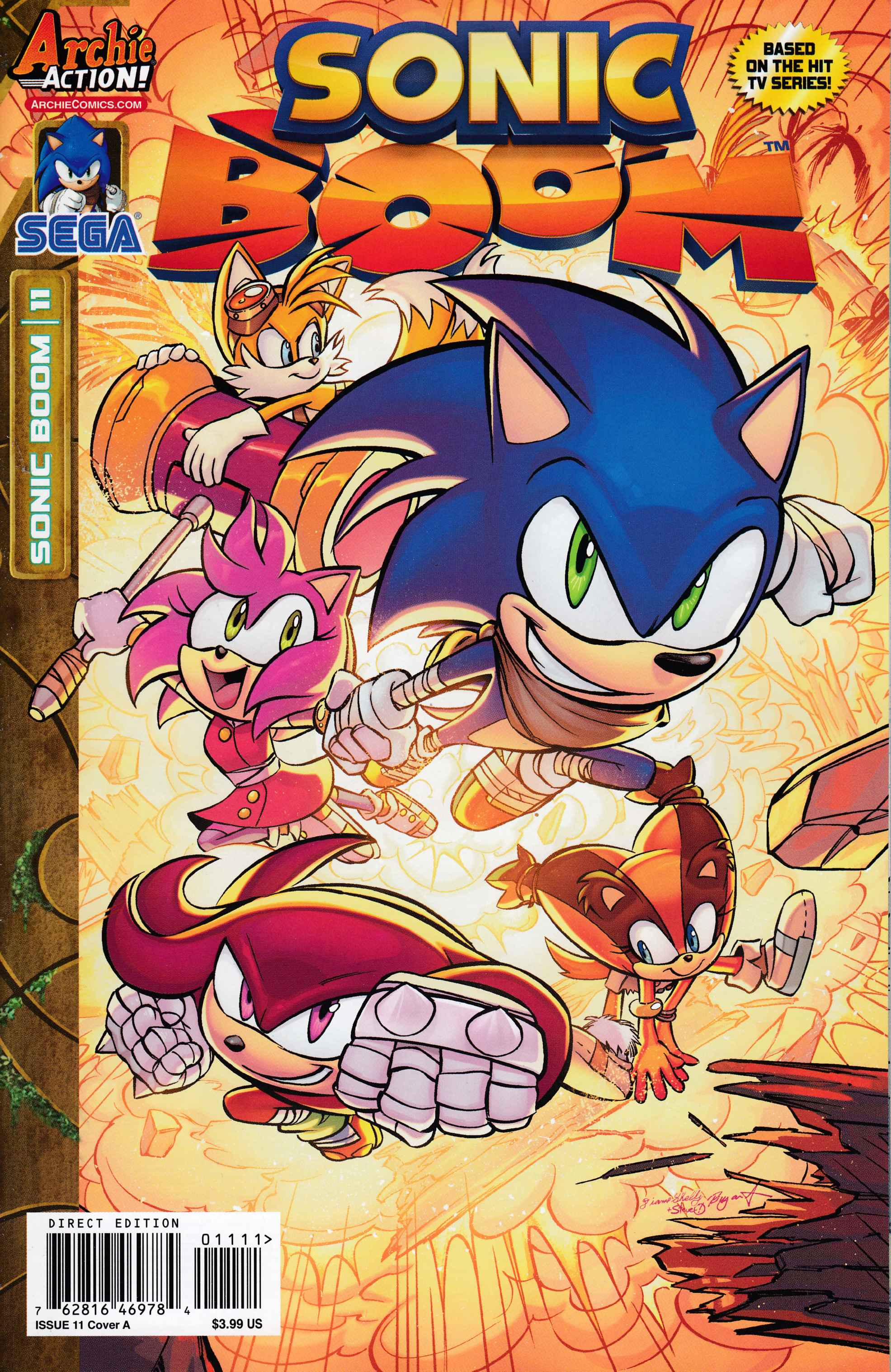 Sonic Boom #11 [Archie Comic] THUMBNAIL