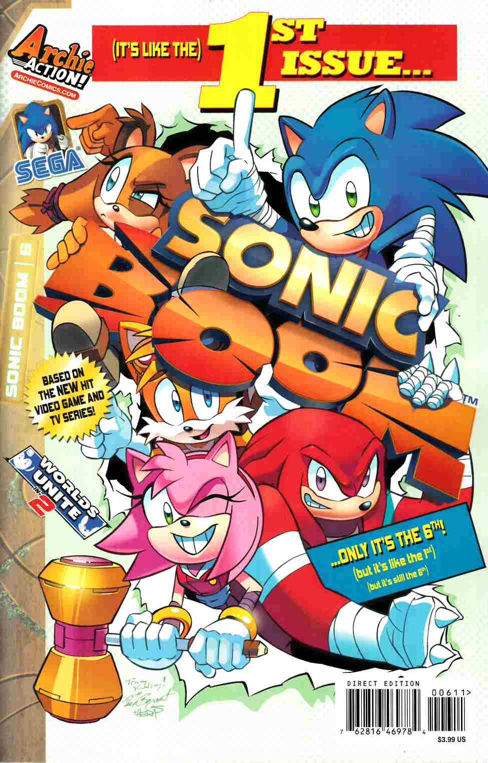 Sonic Boom #6 [Archie Comic] THUMBNAIL