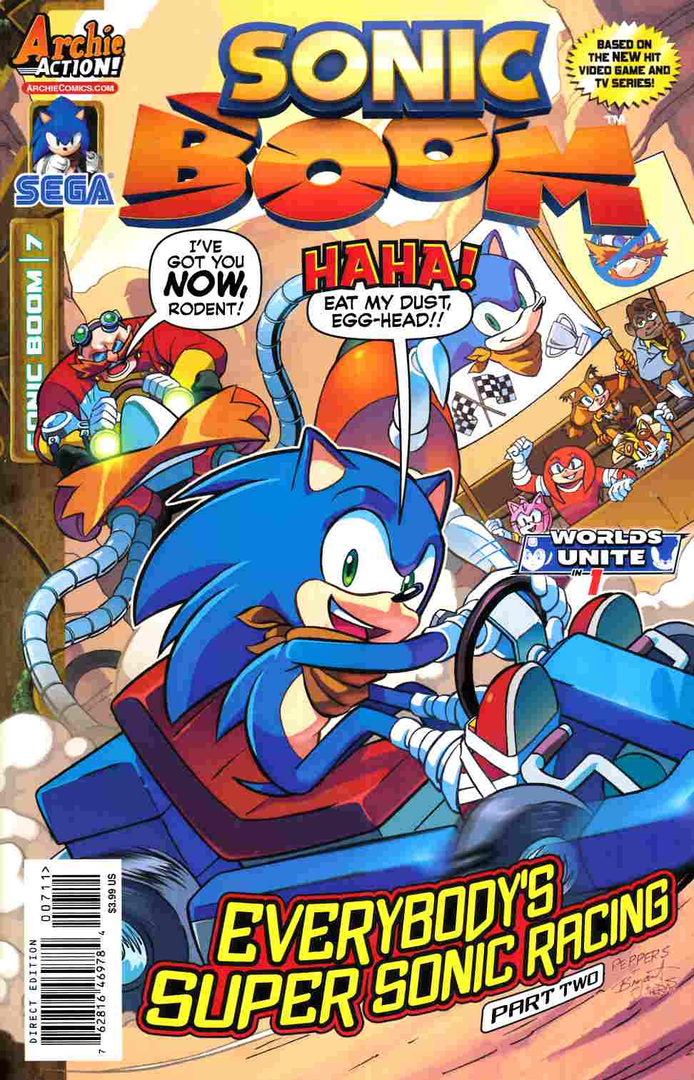Sonic Boom #7 [Archie Comic] THUMBNAIL