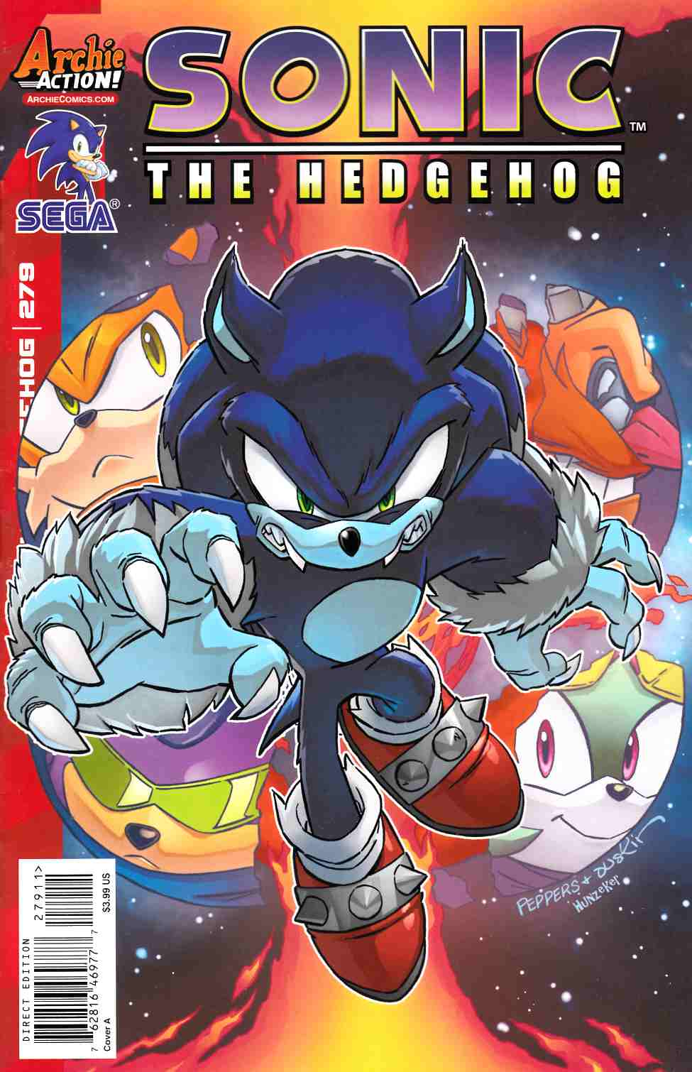 Sonic the Hedgehog #279 Cover A [Archie Comic]