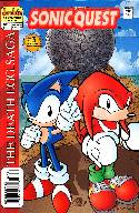 Sonic Quest the Death Egg Saga #3 [Archie Comic] THUMBNAIL