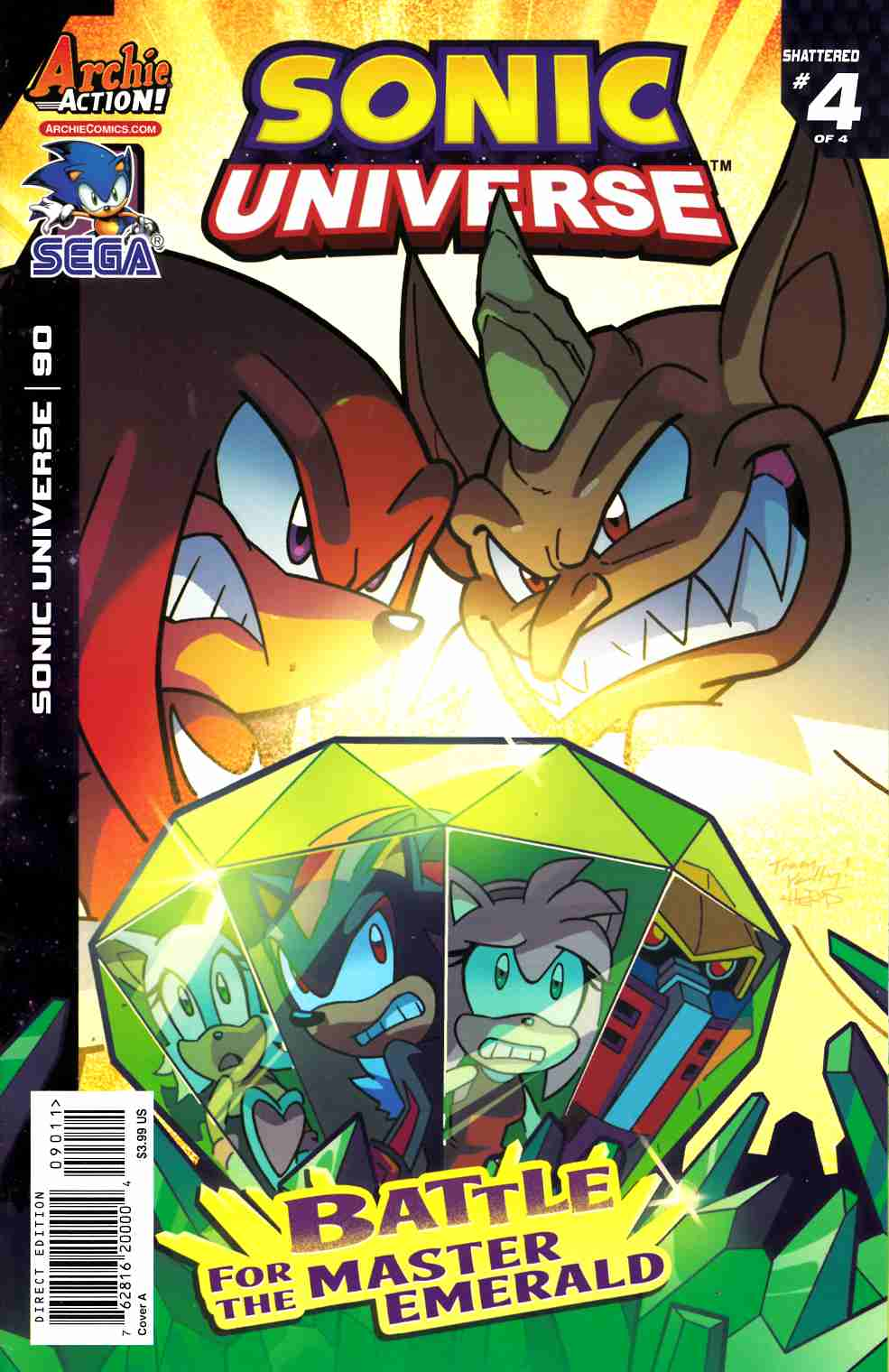 Sonic Universe #90 Cover A [Archie Comic] LARGE