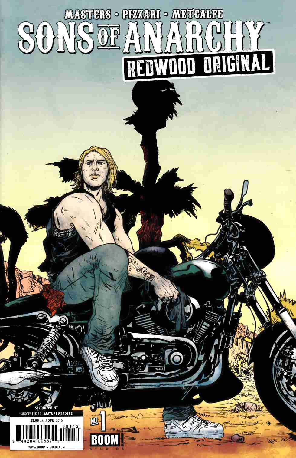 Sons Of Anarchy Redwood Original #1 Second Printing [Boom Comic] LARGE