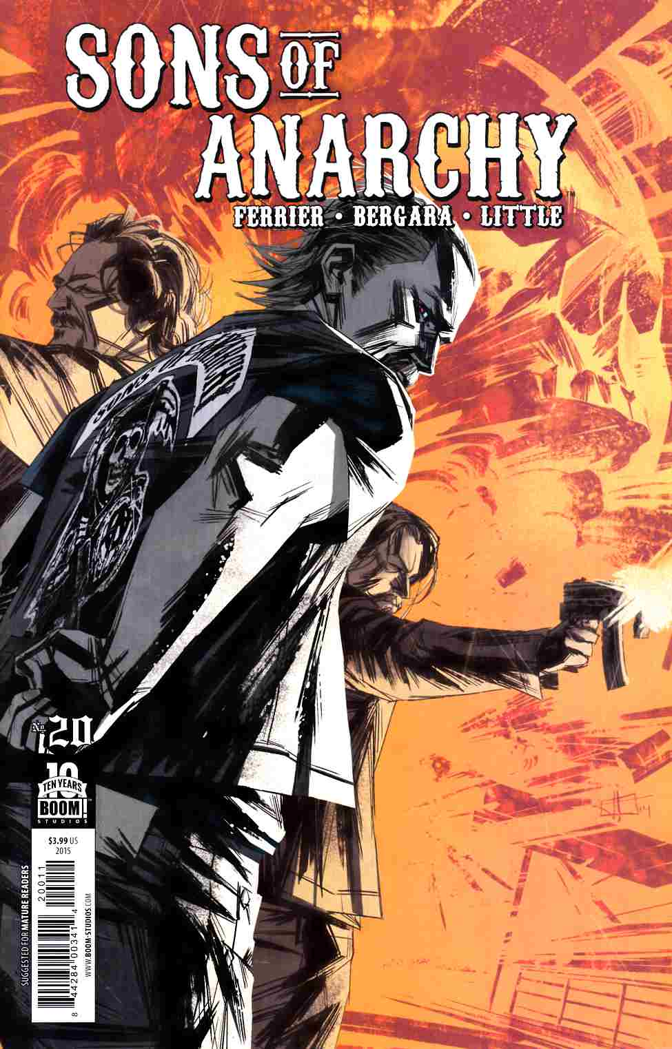 Sons of Anarchy #20 [Boom Comic] THUMBNAIL