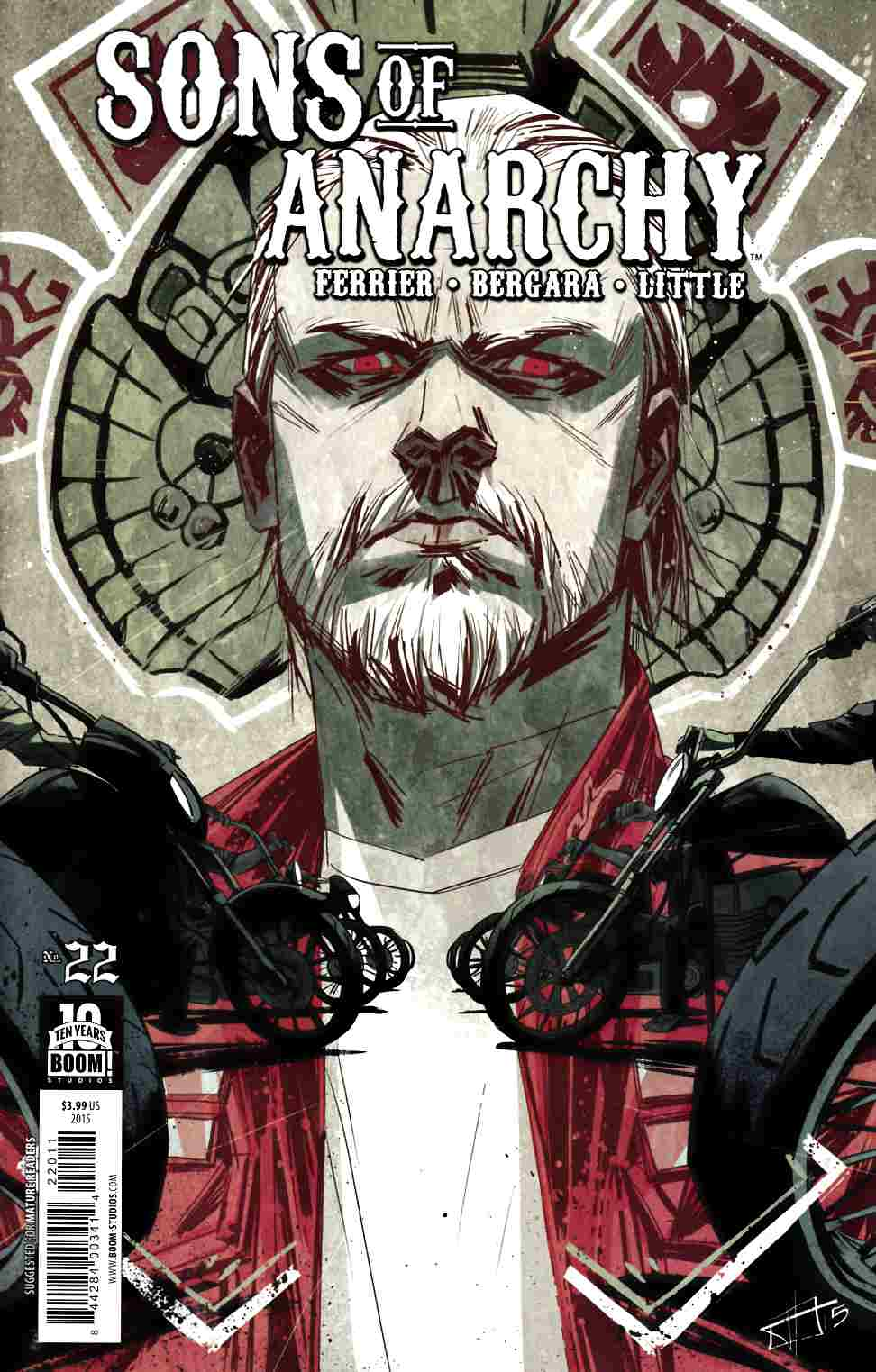 Sons of Anarchy #22 [Boom Comic] THUMBNAIL