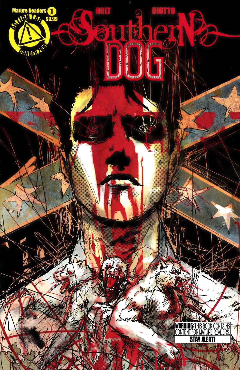 Southern Dog #1 Rossmo Cover [Comic] THUMBNAIL