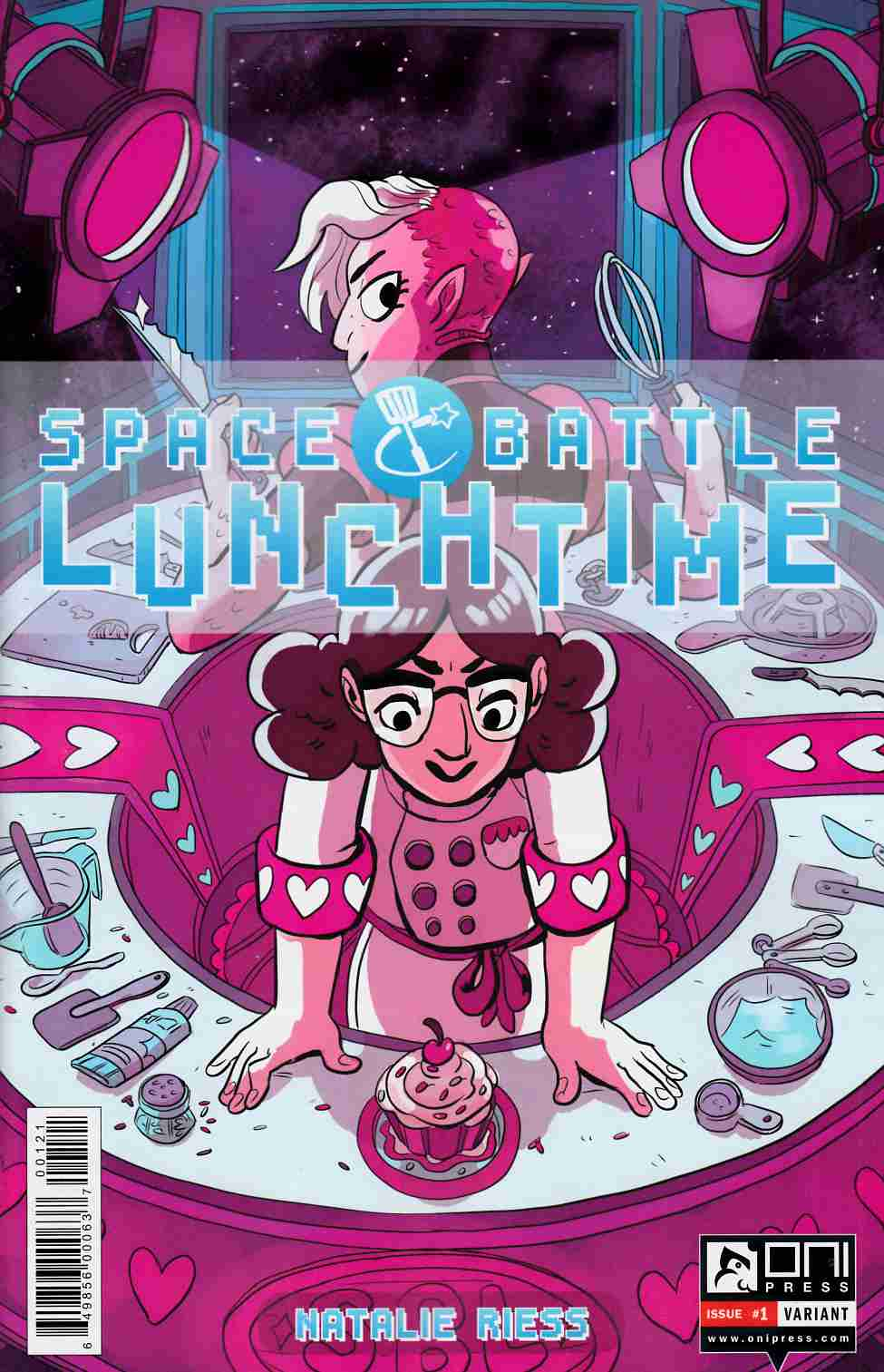 Space Battle Lunchtime #1 Pietsch Variant Cover [Oni Press Comic]