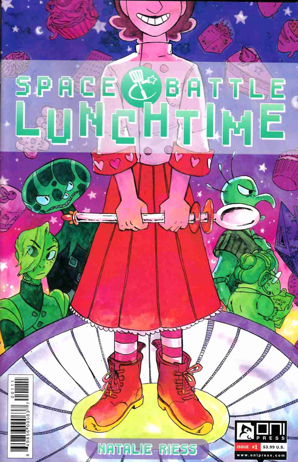 Space Battle Lunchtime #1 [Oni Press Comic] THUMBNAIL