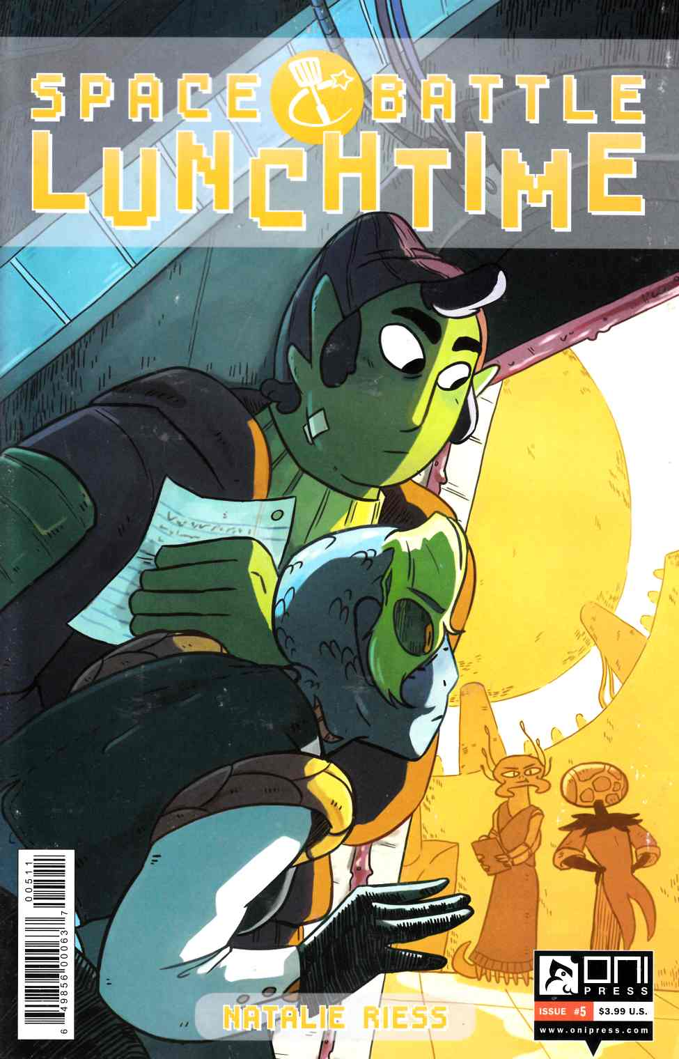 Space Battle Lunchtime #5 [Oni Press Comic] LARGE