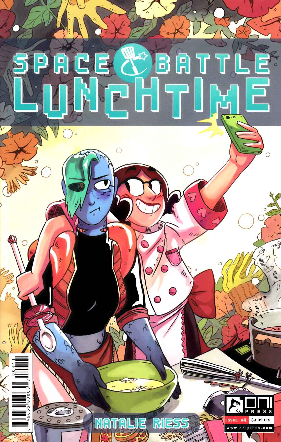 Space Battle Lunchtime #4 [Oni Press Comic] LARGE