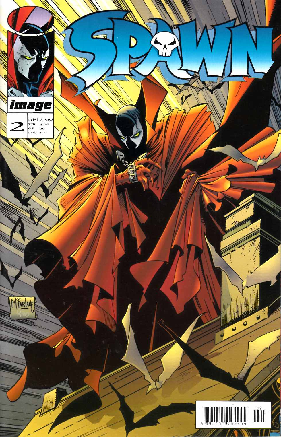 Spawn #2 French Edition [Image Comic] THUMBNAIL