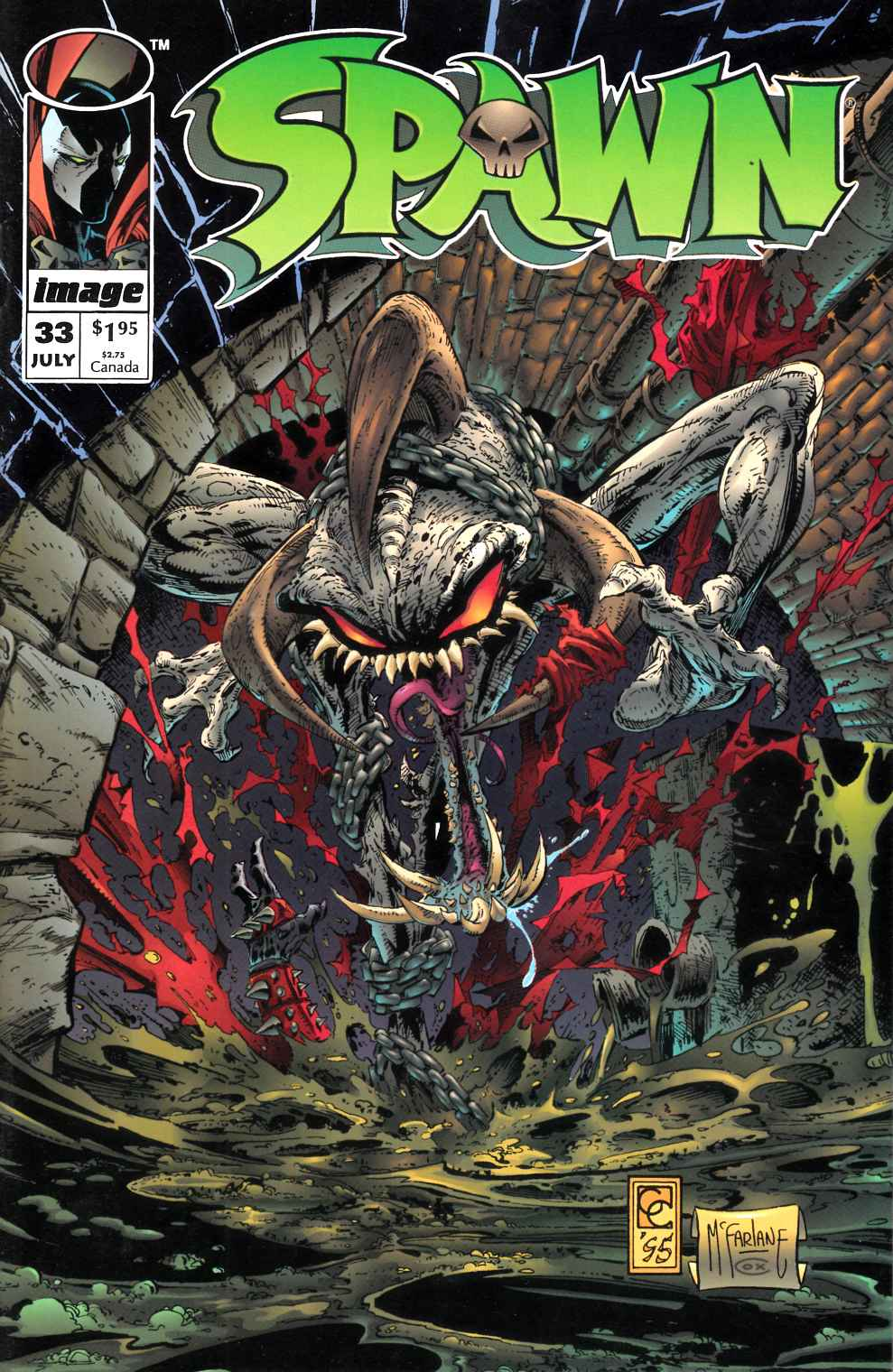 Spawn #33 Very Fine (8.0) [Image Comic] LARGE